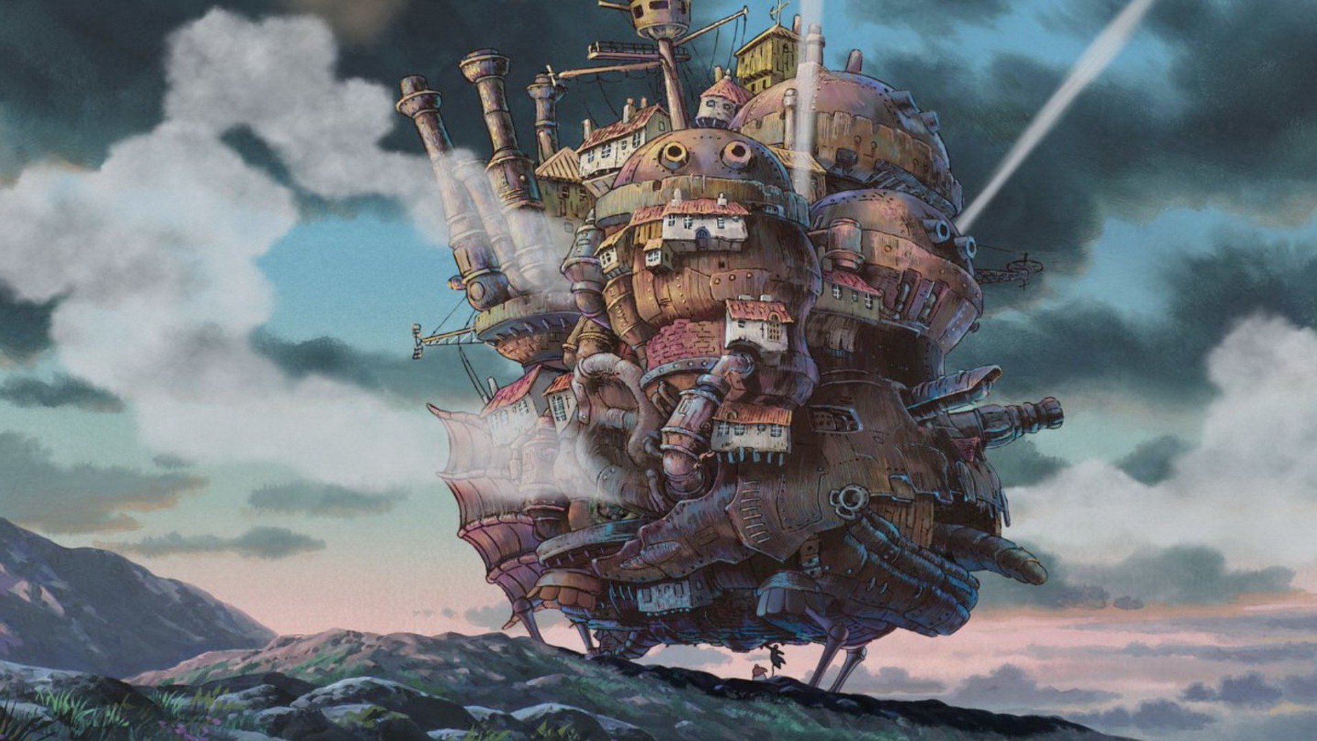 1920x1080 Studio Ghibli, Howl's Moving Castle, Anime Wallpapers HD / Desktop and  Mobile Backgrounds