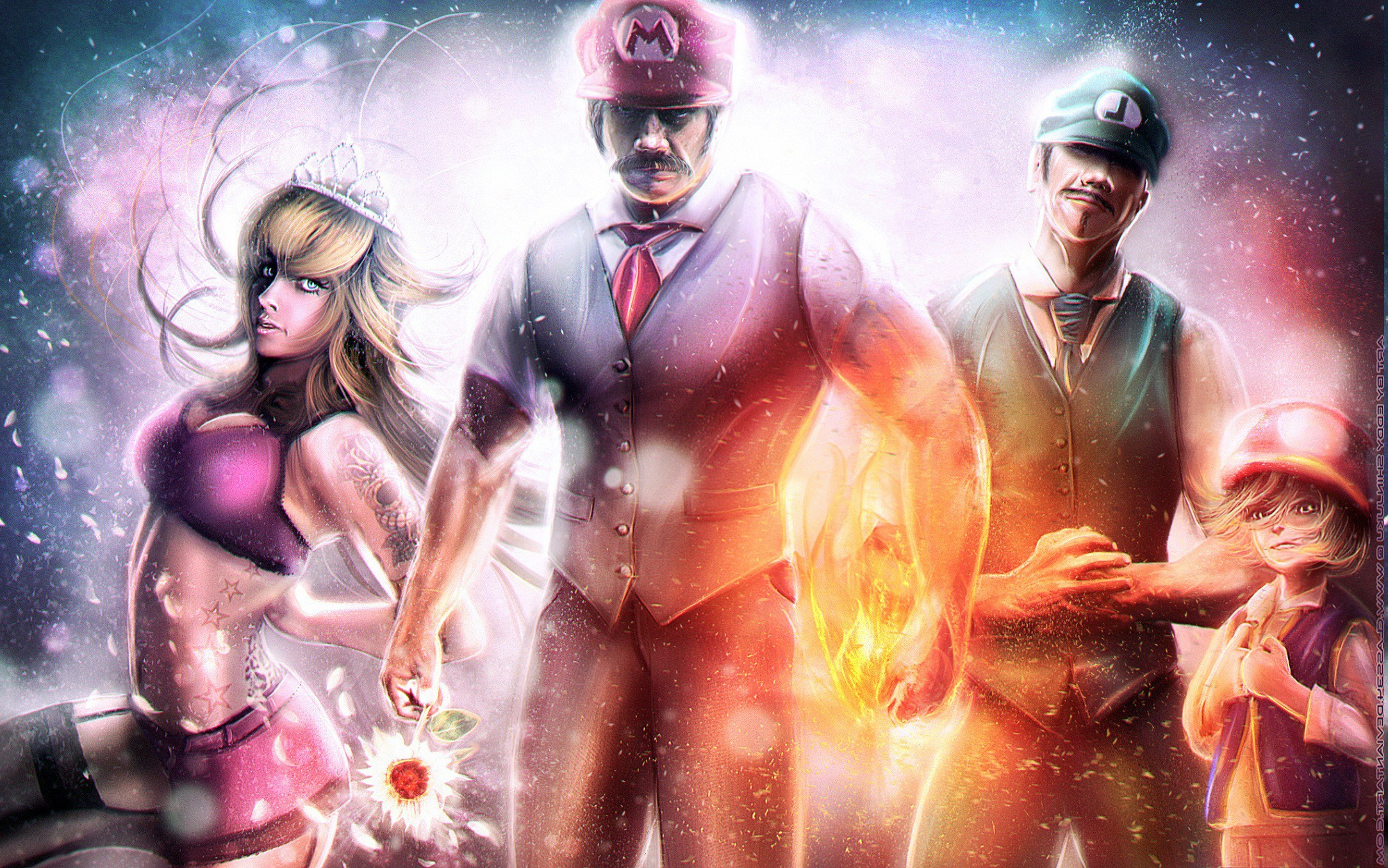 2166x1355 video Games, Super Mario, Luigi, Realistic, Princess Peach Wallpapers HD /  Desktop and Mobile Backgrounds