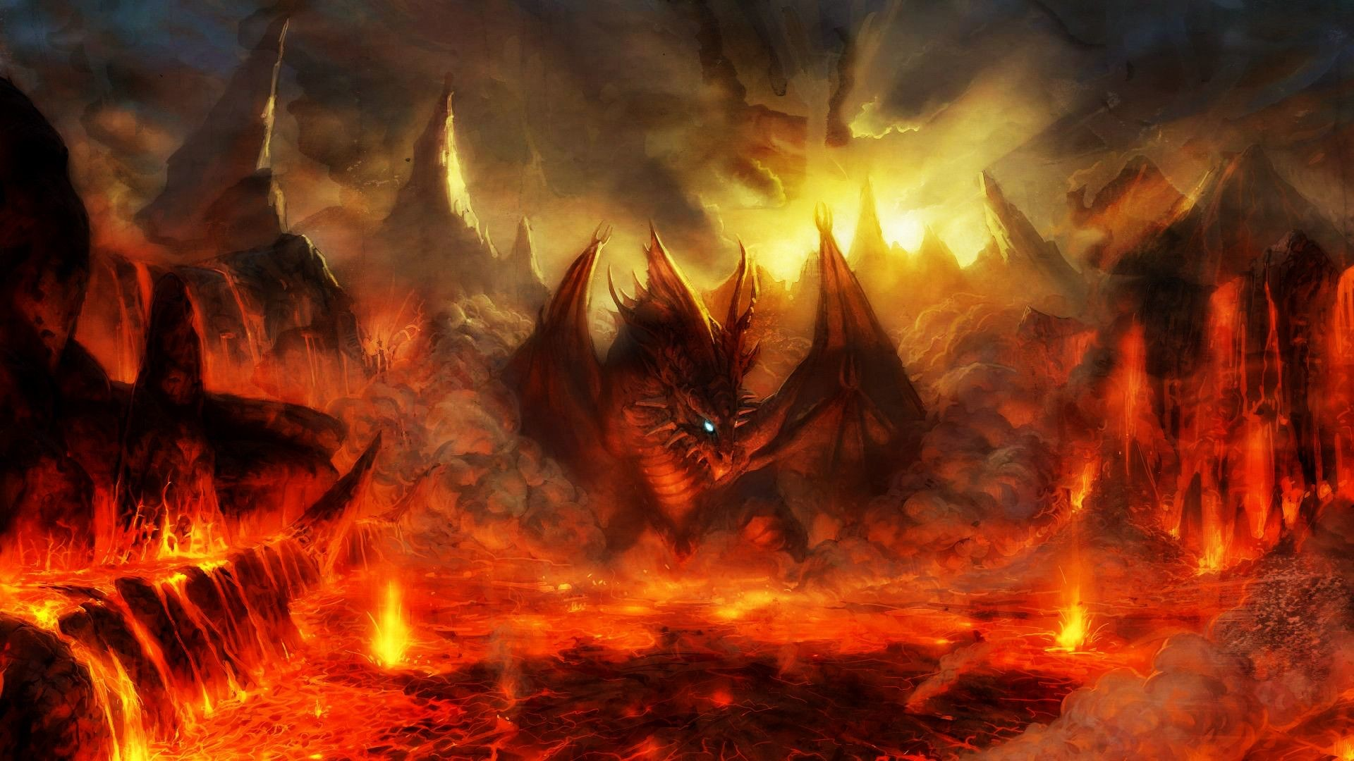 heaven vs hell wallpaper  68  images