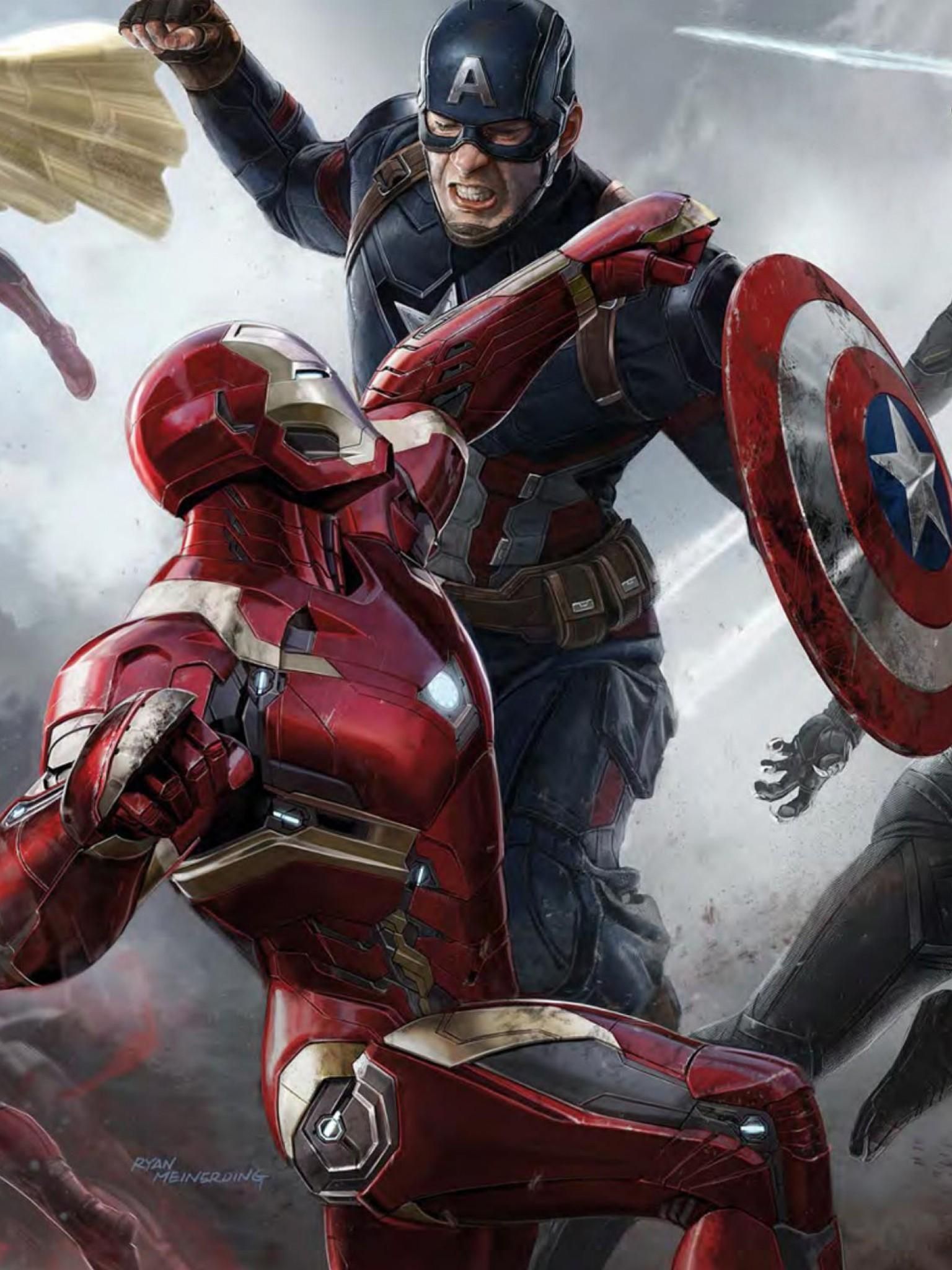 Avengers Civil War Wallpaper (72+ images)