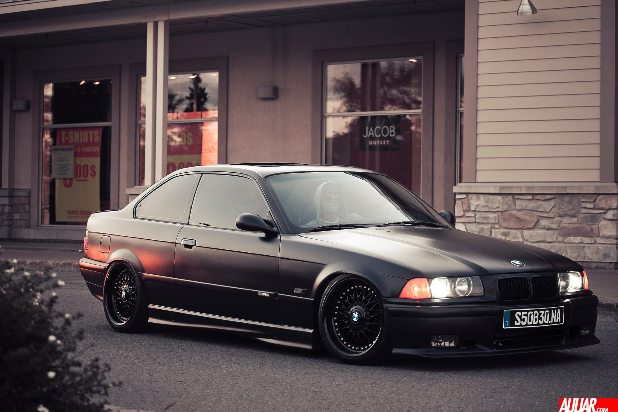 2048x1365 1995 Satin Black BMW M3 E36 US 3.0L picture, mods, upgrades