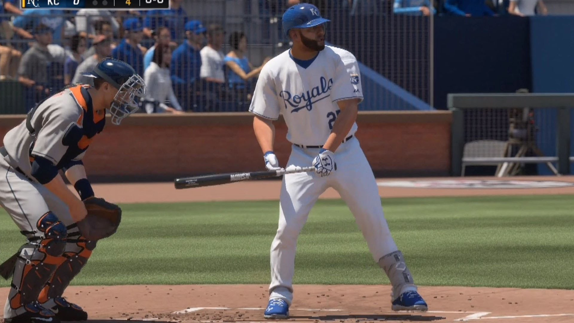1920x1080 MLB The Show 16 - Houston Astros vs Kansas City Royals | Gameplay (PS4 HD)  [1080p60FPS] - YouTube