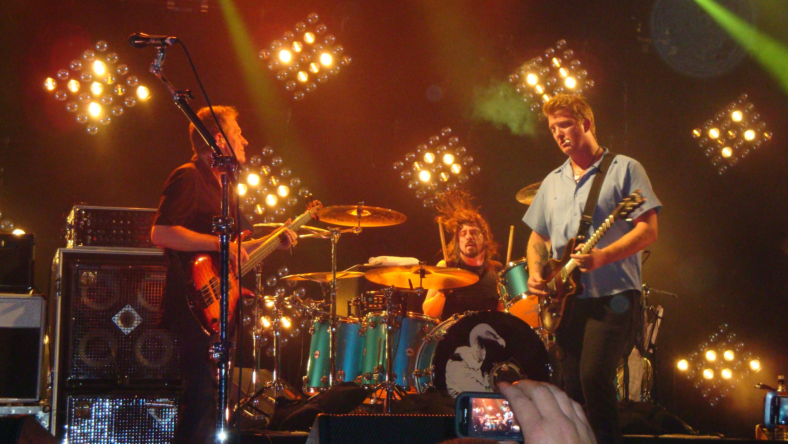 Queens Of The Stone Age Live