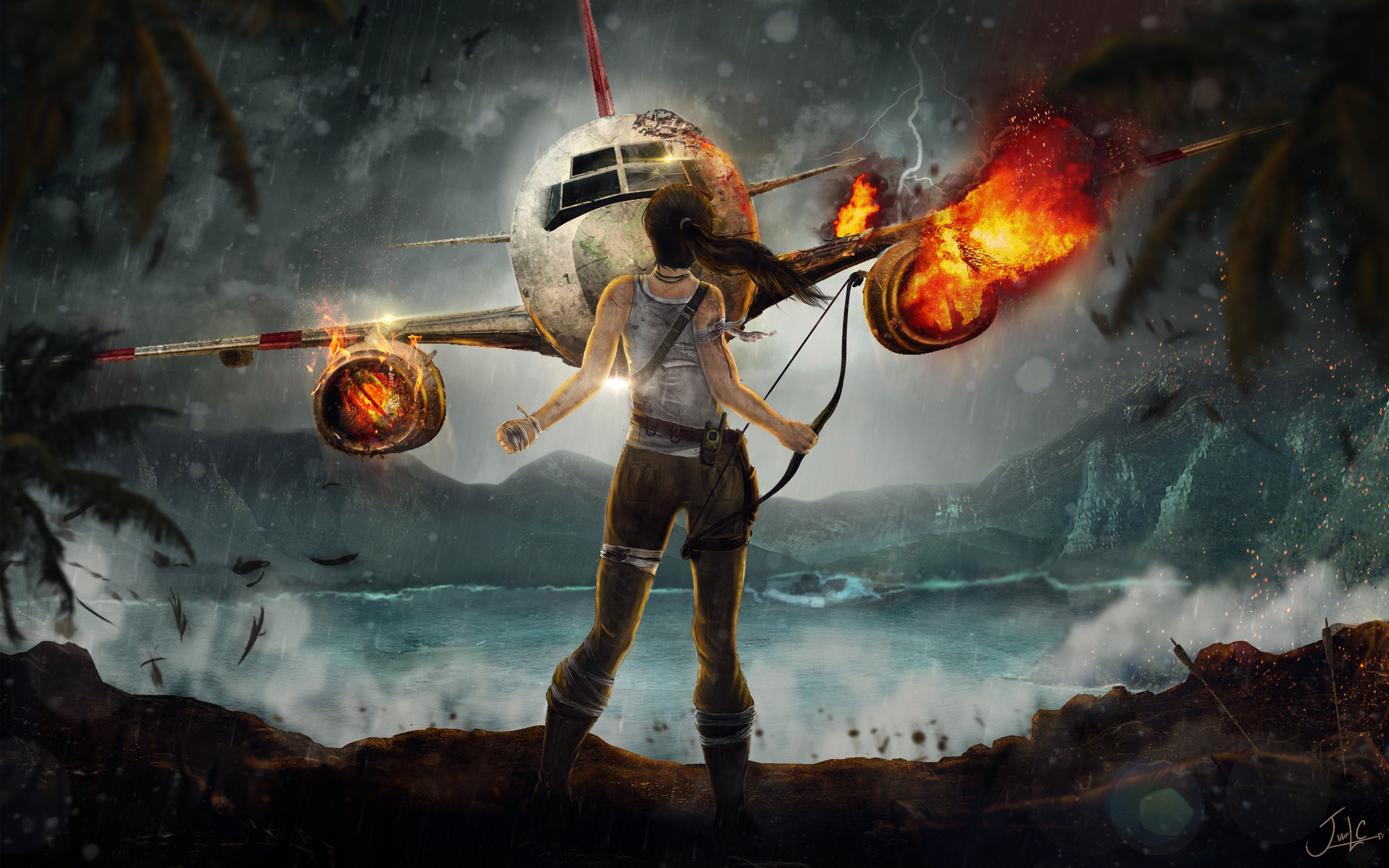 2880x1800 Tags: Adventure Lara Croft