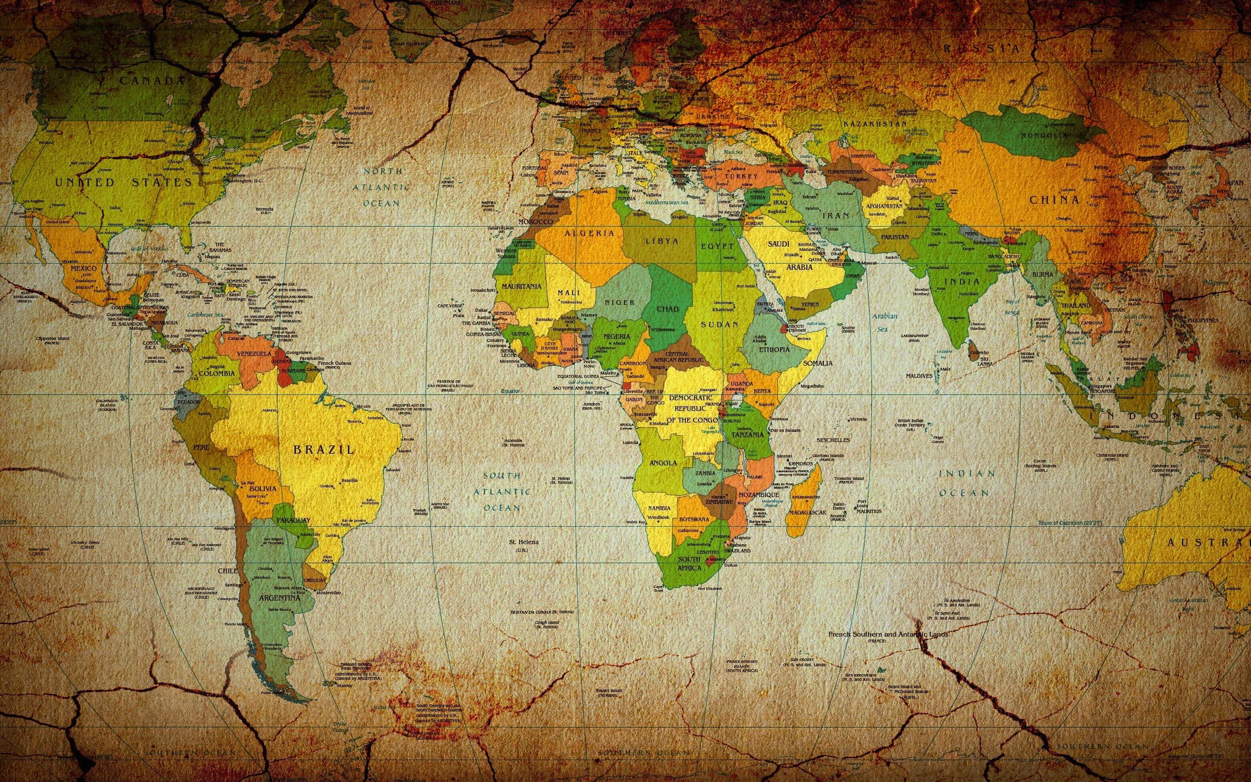 World map desktop wallpaper hd 70 images 2560x1600 world map wallpaper 6254 gumiabroncs Images
