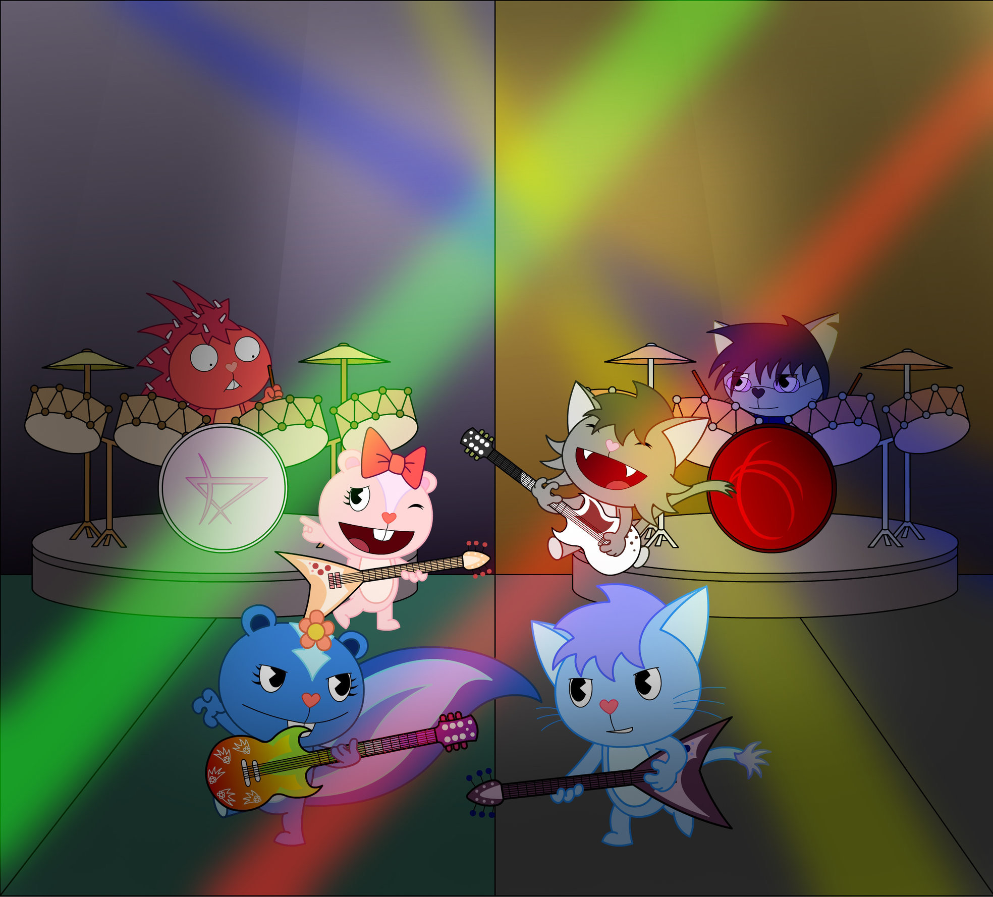 1968x1778 Happy Tree Friends images Band Battle. HD wallpaper and background photos