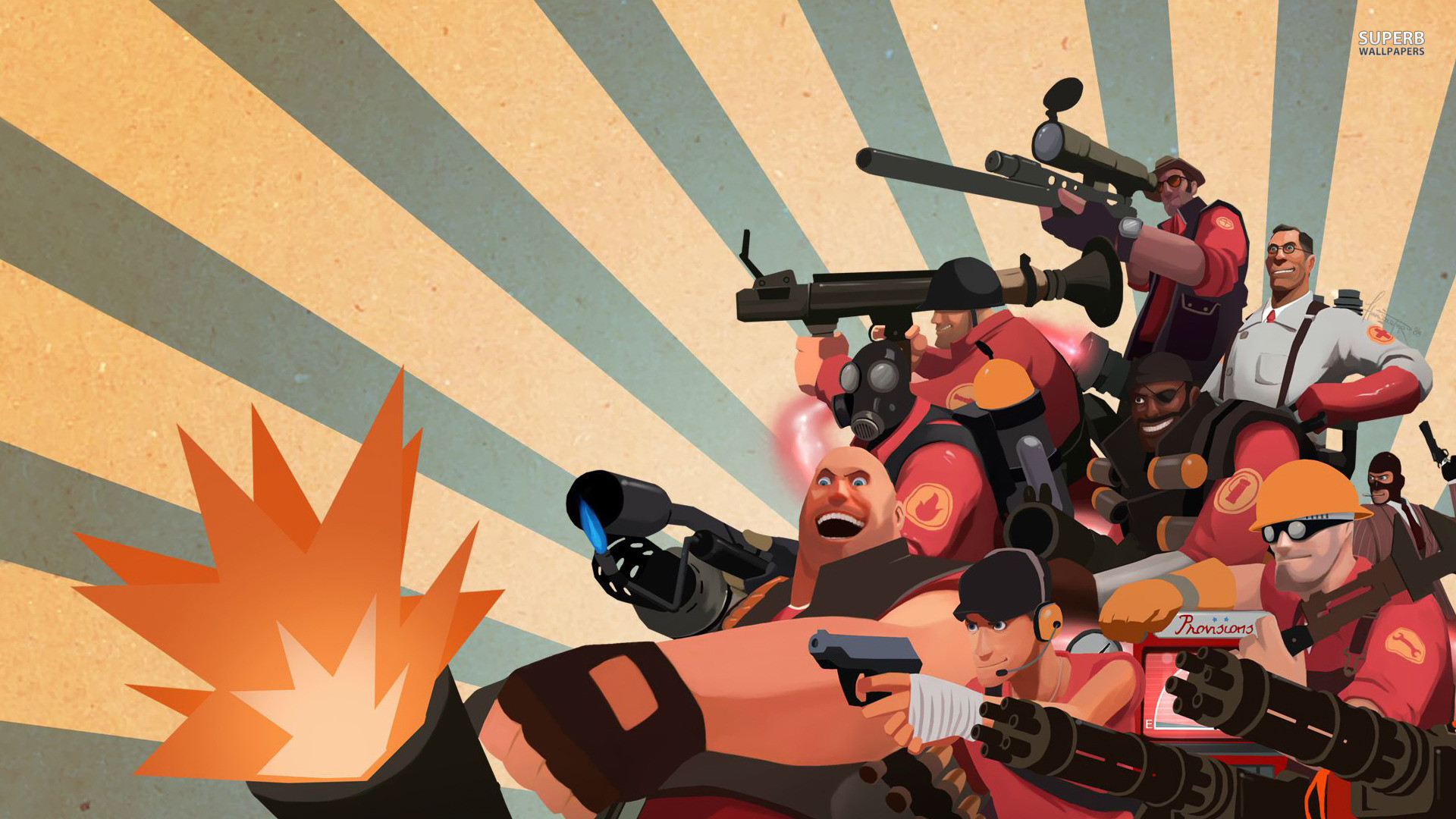1920x1080 Team Fortress 2 wallpapers (17 Wallpapers)