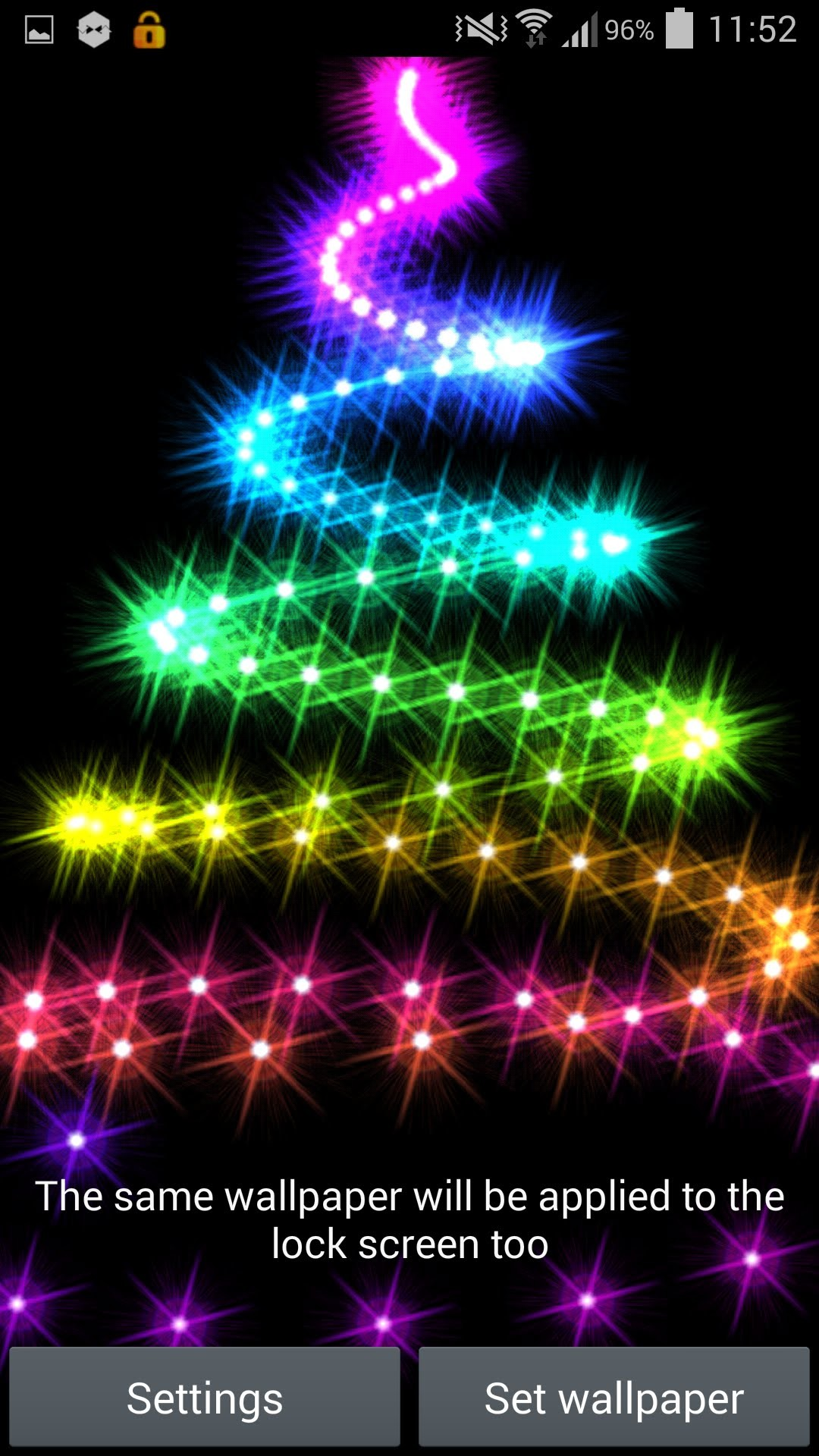 1080x1920 'Christmas Lights 2014' Live Wallpaper for Android - YouTube