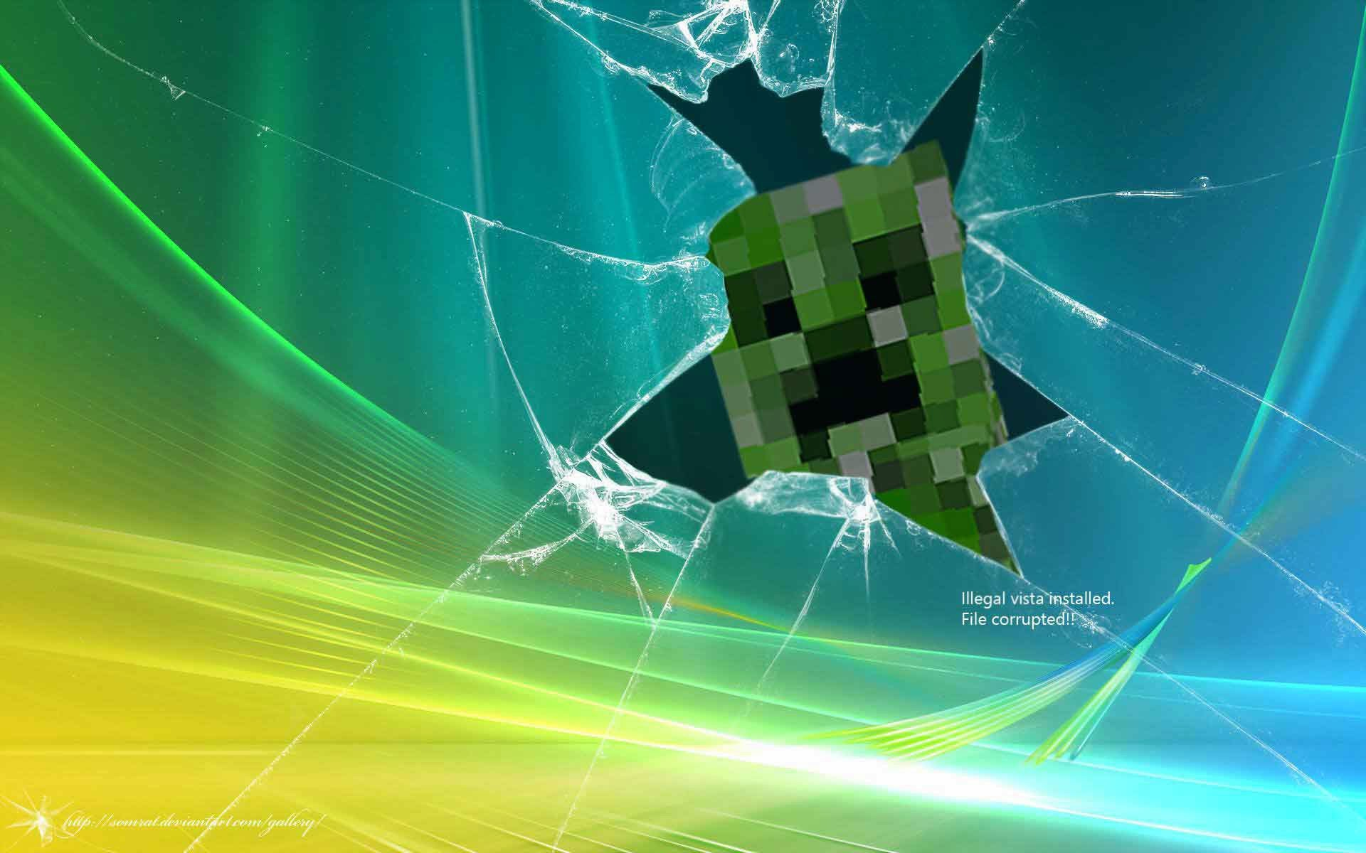 Wonderful Wallpaper Minecraft Windows 7 - 1064136-broken-windows-wallpaper-1920x1200-full-hd  Picture_65117.jpg