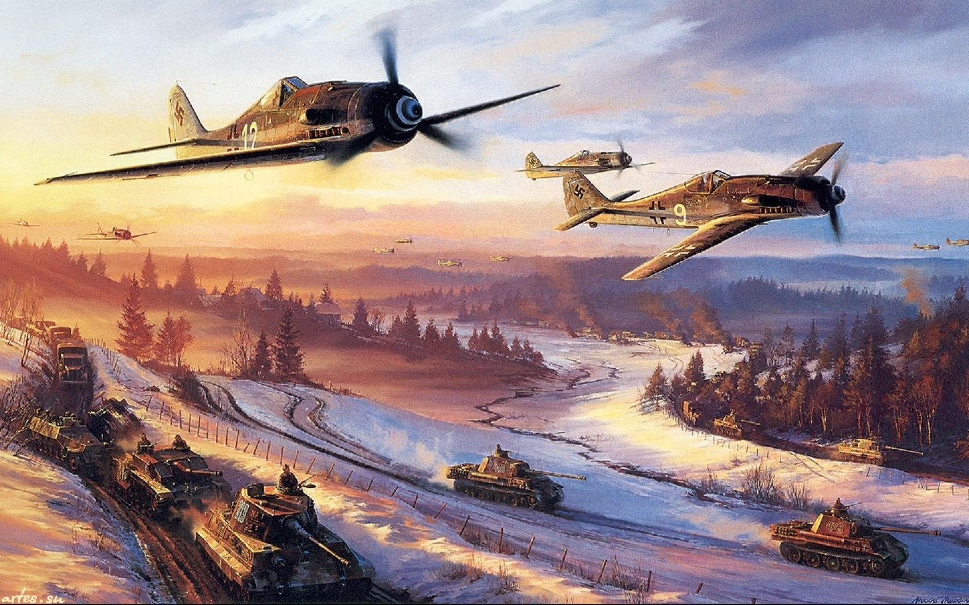 1920x1200 Military Aircraft Wallpapers Paintings Backgro #21040 Wallpaper .