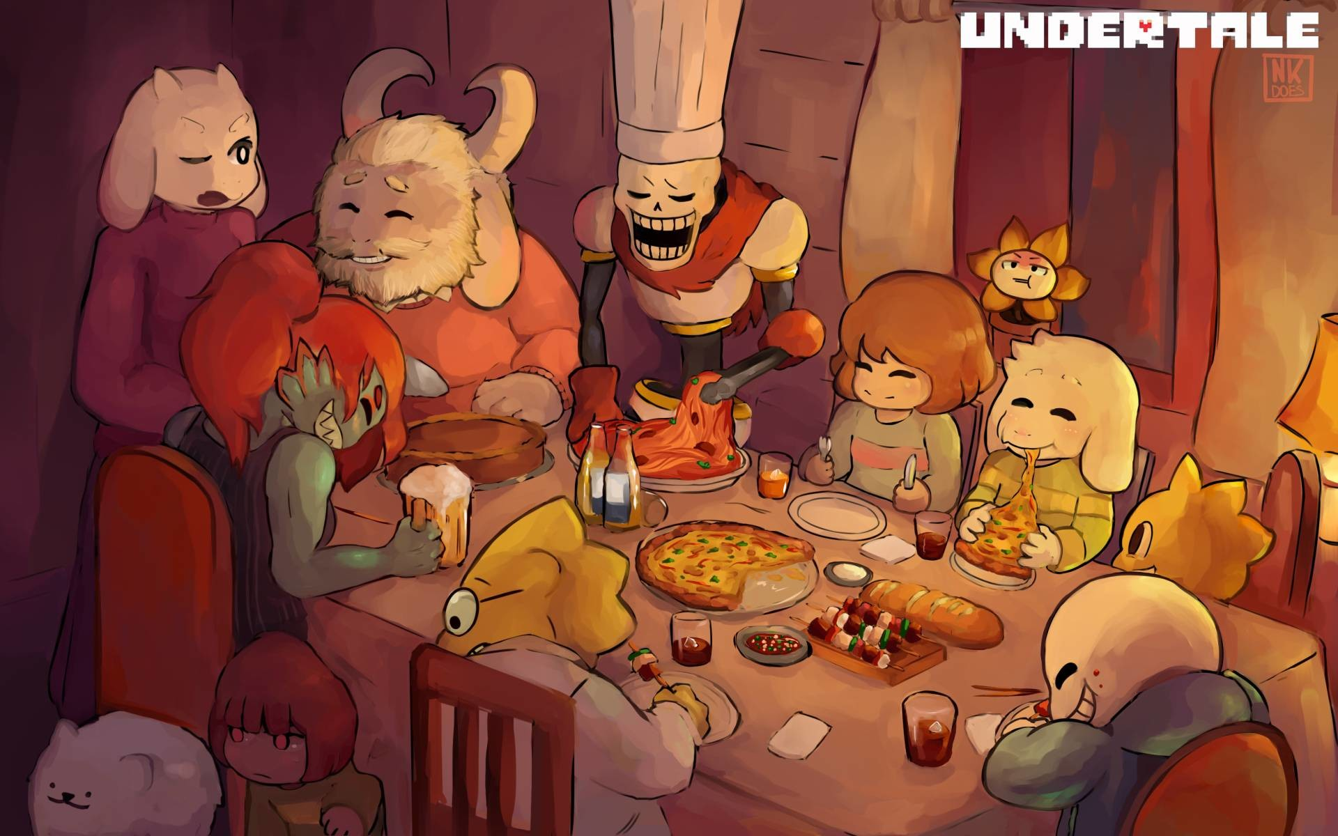 1920x1200 QWH688: Cute Undertale Wallpaper, Awesome Undertale Backgrounds .