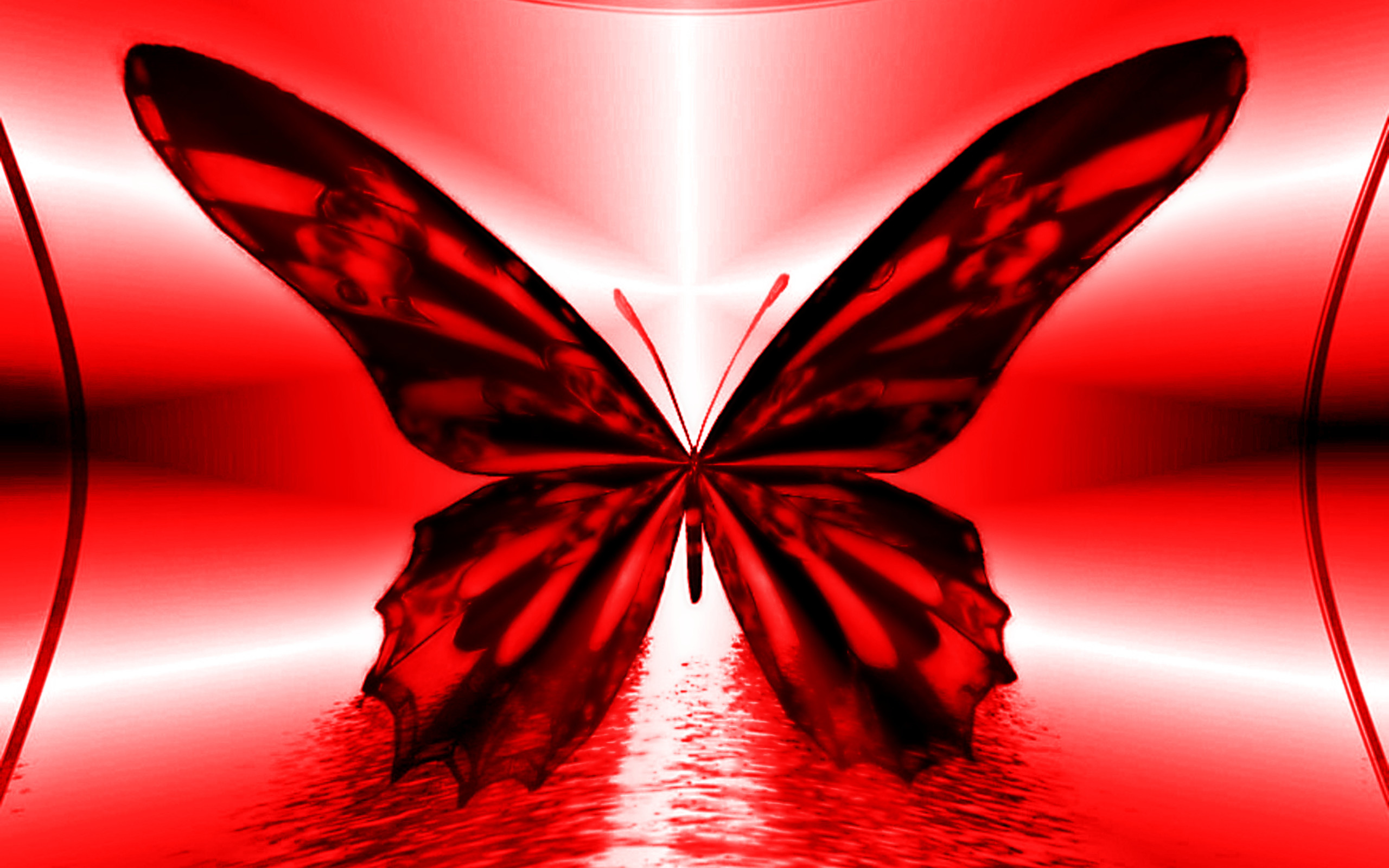 Red Butterfly Wallpaper (65+ Images