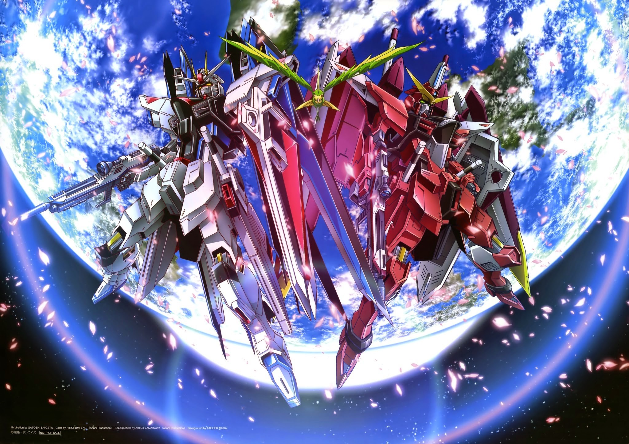 2048x1444 Gundam Seed Wallpaper - Wallpapers Browse