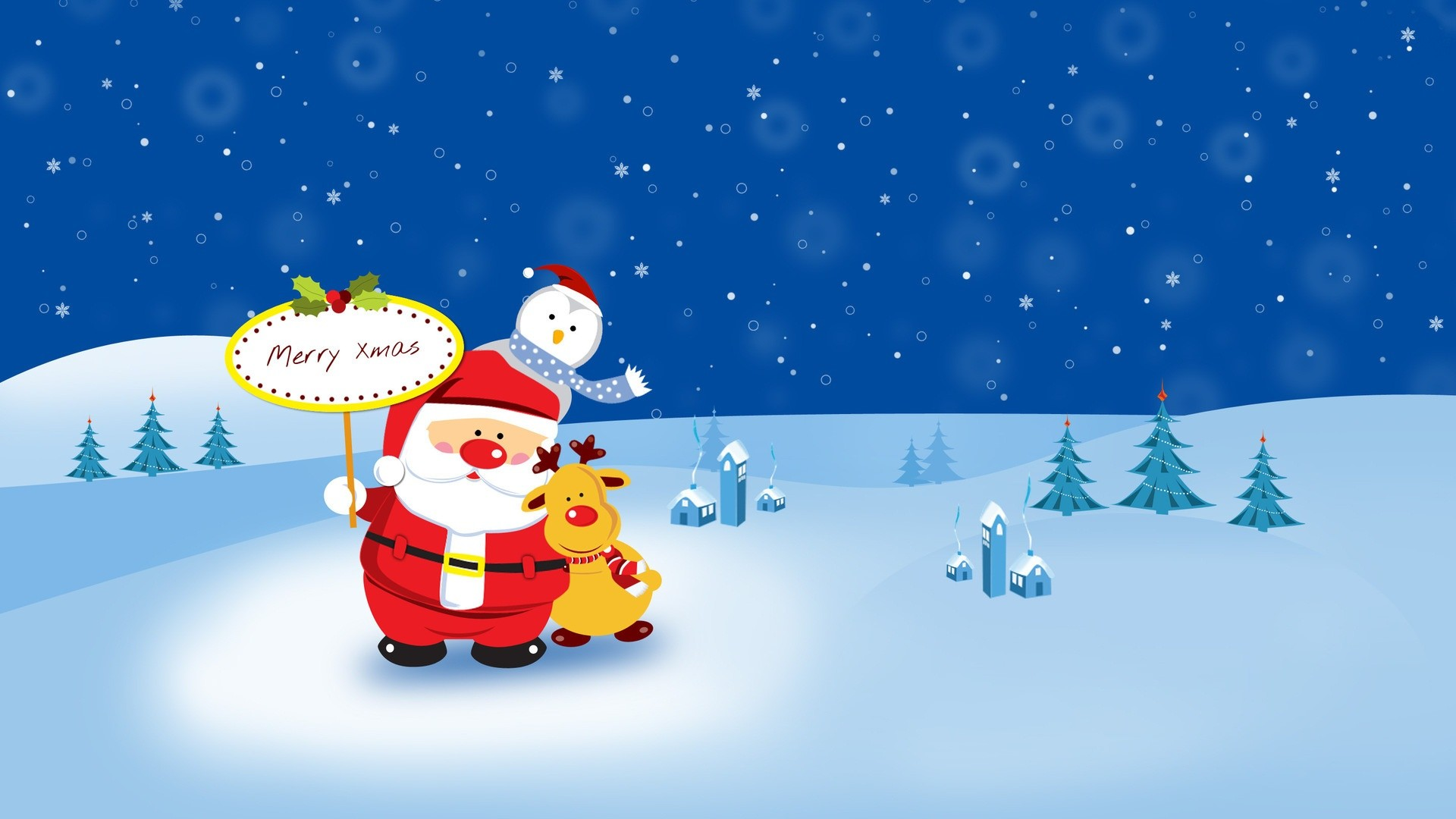1920x1080 Animated Christmas Wallpapers Free Download 12