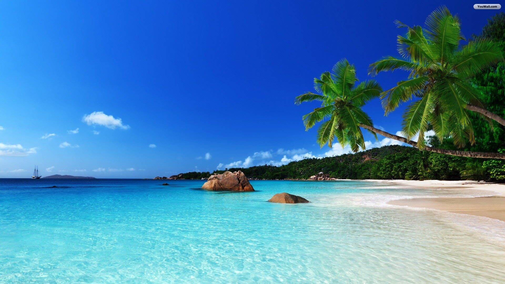 Beach Desktop Wallpapers 53 Images