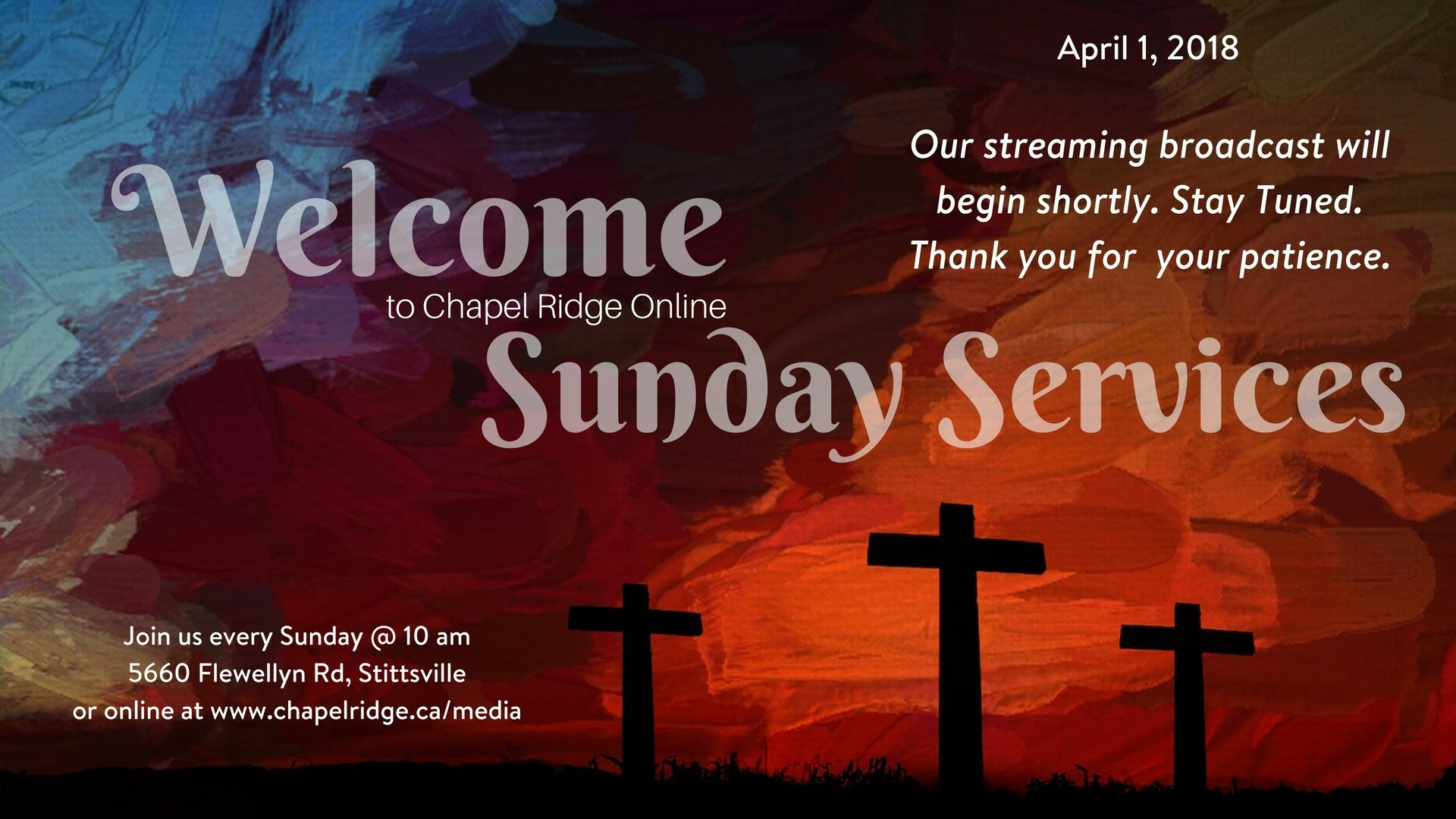 1920x1080 Easter Sunday – Come and See – Pastor Luke