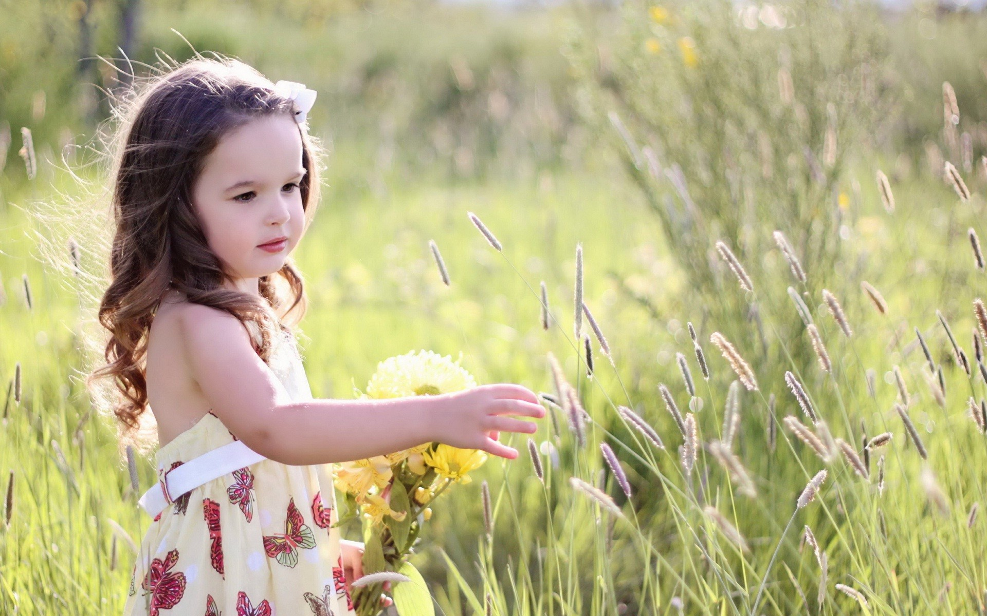 1920x1200 Charming and cute baby girl wallpaper | HD Wallpapers Rocks