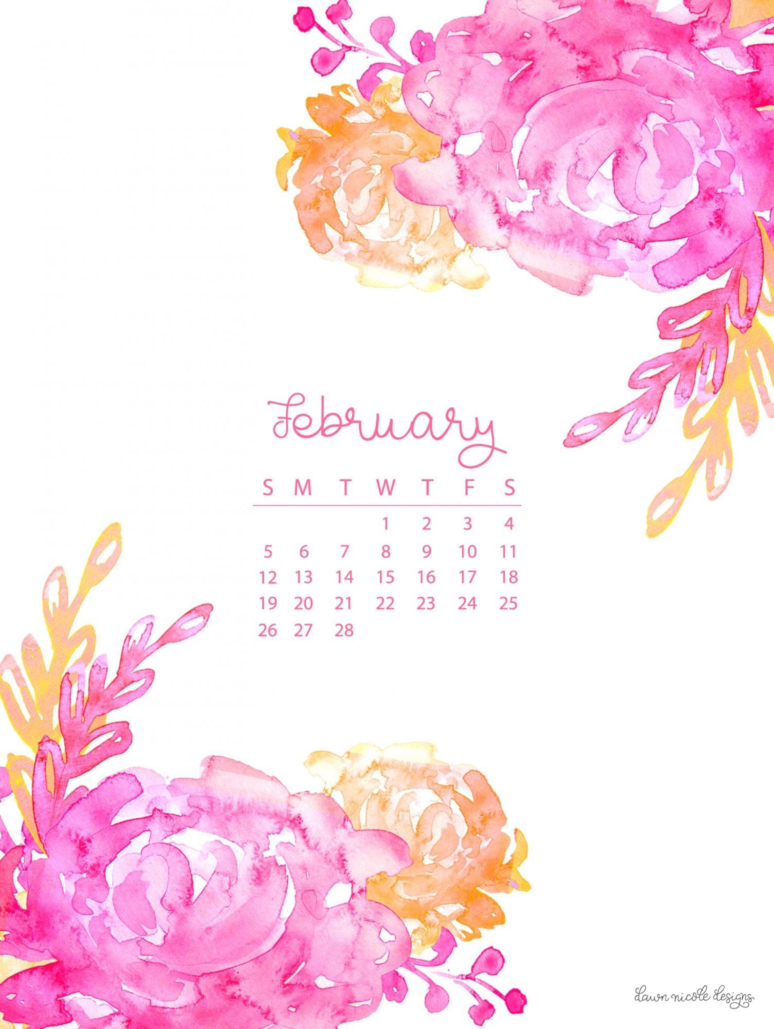 Wallpaper Calendars for 2018 (61+ images)