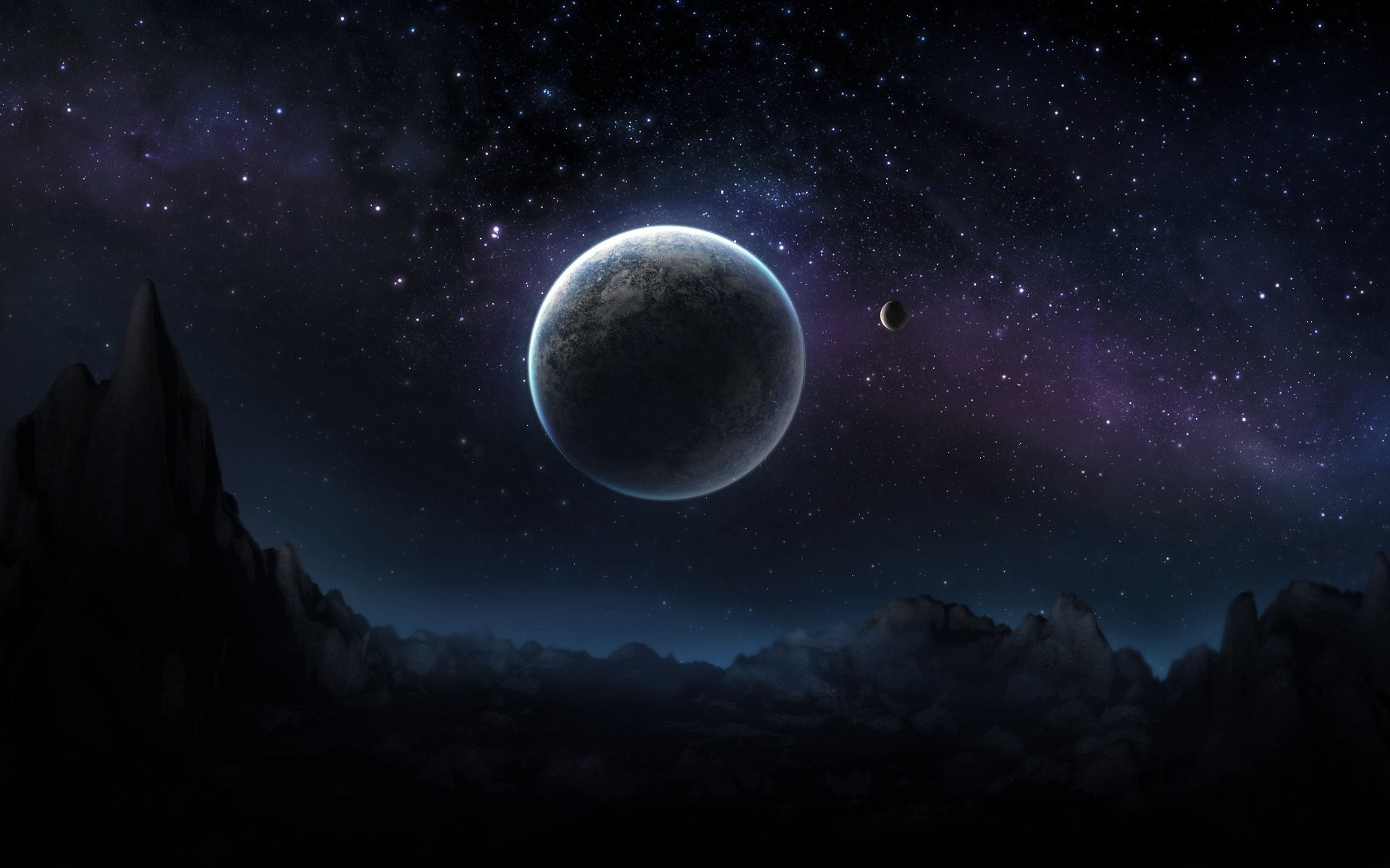 Blue space wallpaper hd 72 images - Wallpapers space hd ...