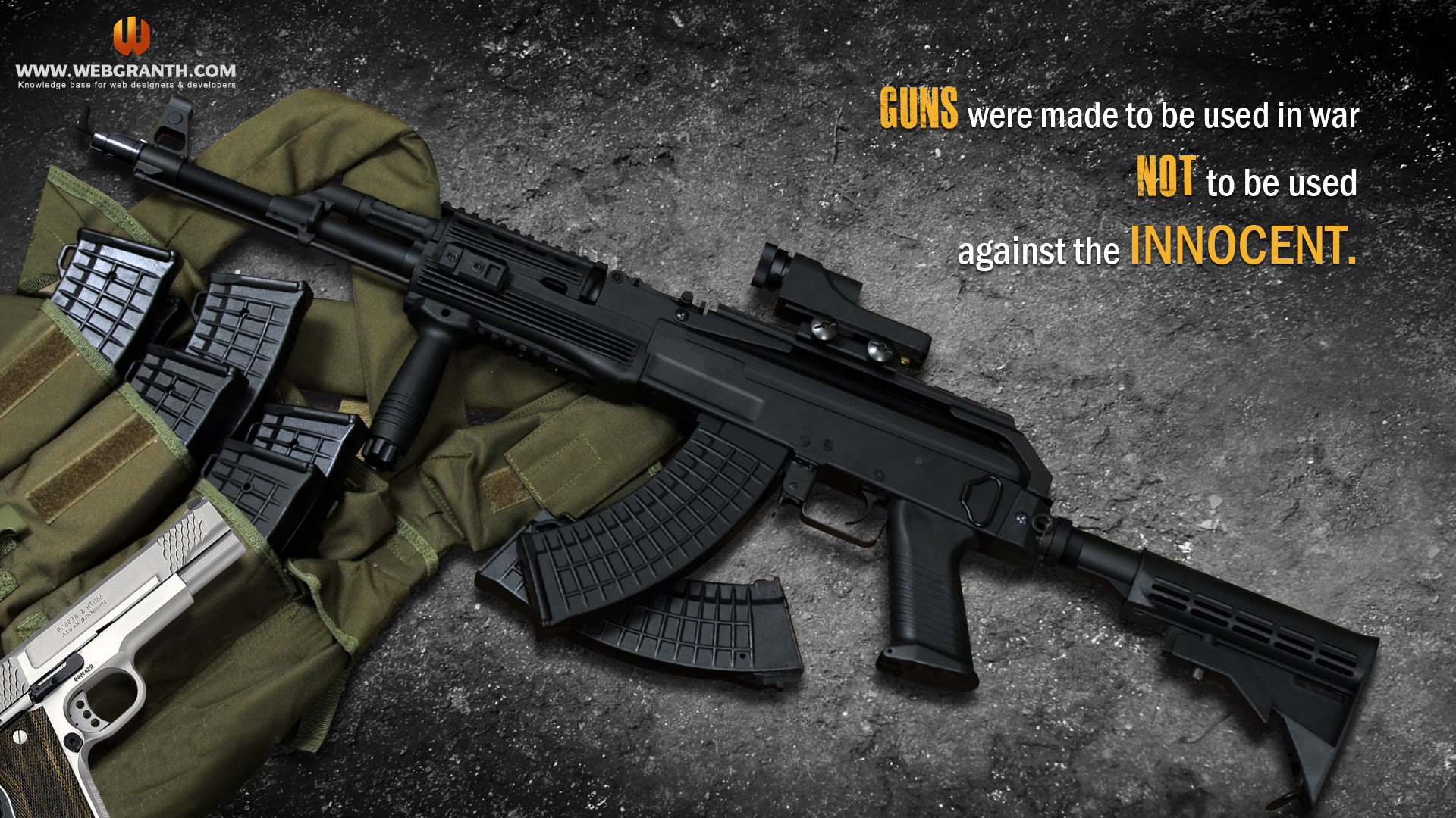 Cool Guns Wallpaper 56 Images