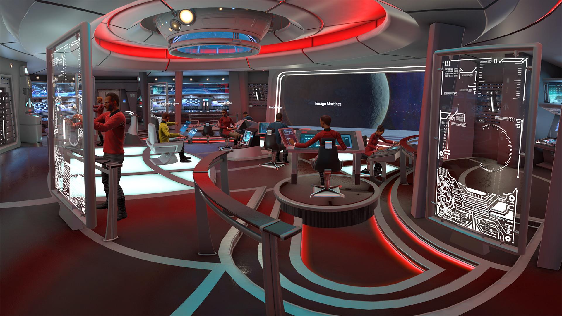 Star Trek Bridge Wallpaper 78 Images