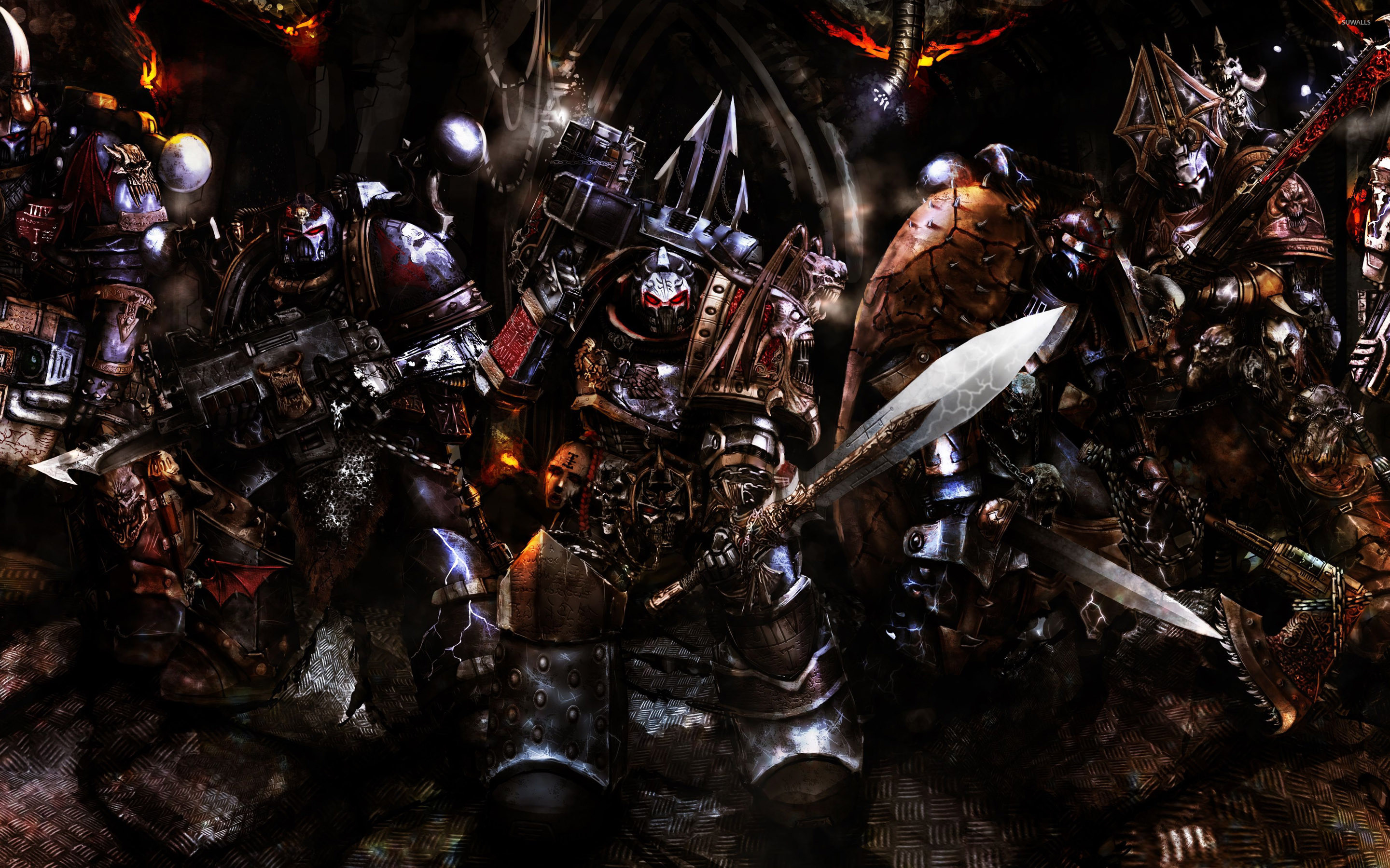 2880x1800 Chaos Space Marines Wallpapers Wallpaper 2880×1800