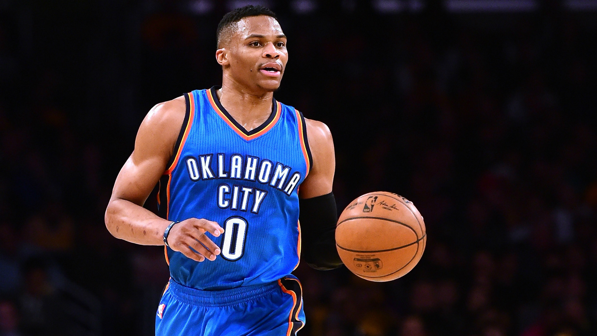 1920x1080 Russell Westbrook should mash tonight and is our top #nba #dfs option.