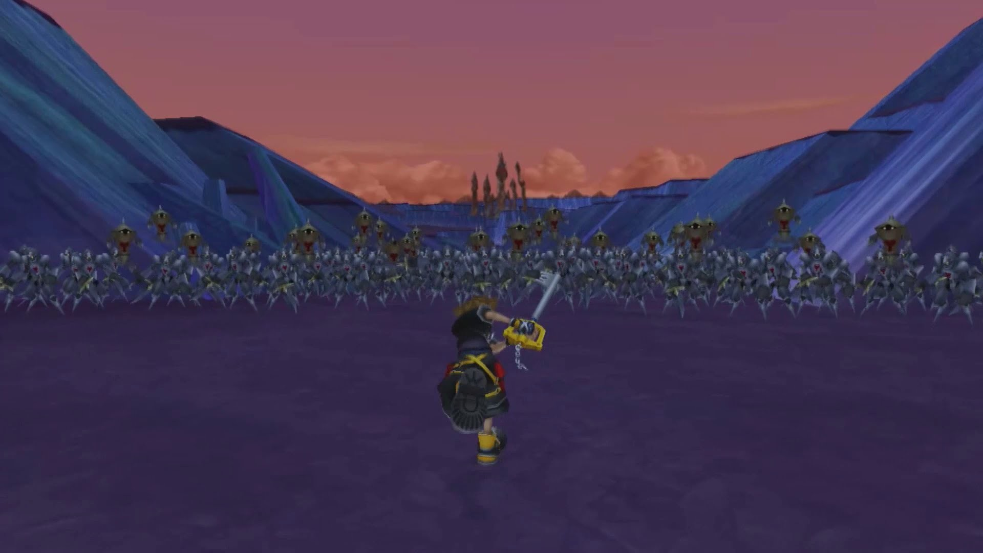 1920x1080 Kingdom Hearts HD 2.5 Remix - 1000 heartless battle (Full HD) - YouTube