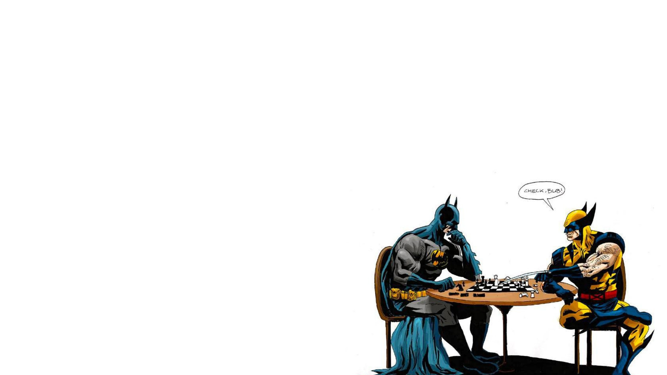 2560x1440 ... Wolverine or batman? by Lemongraphic on DeviantArt ...