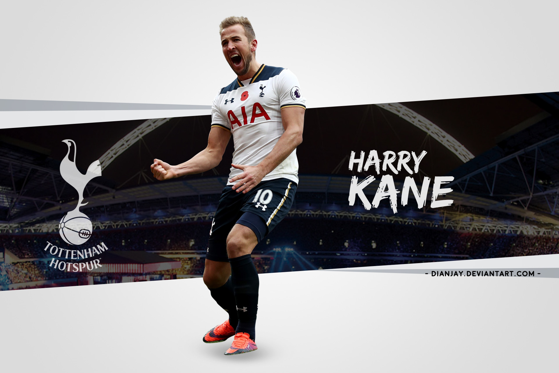 1920x1280 ... Harry Kane 2017/18 Wallpaper Desktop by dianjay