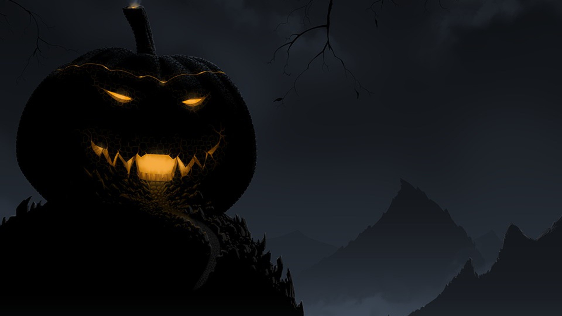 1920x1080 Headless Horseman Halloween Backgrounds Free