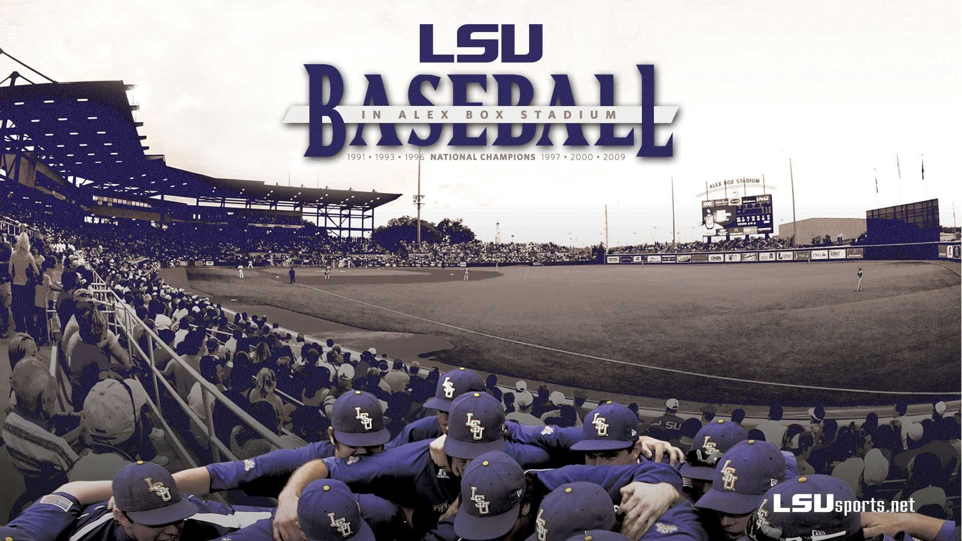 1920x1080 HD LSU Baseball 4k Picture for Desktop