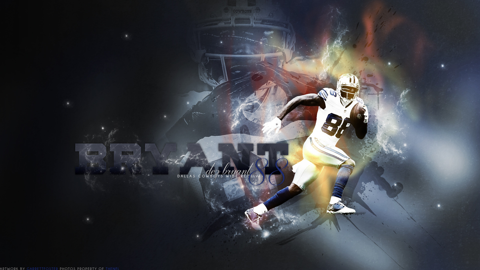 1920x1080 Dez Bryant wallpaper I just finished () ...