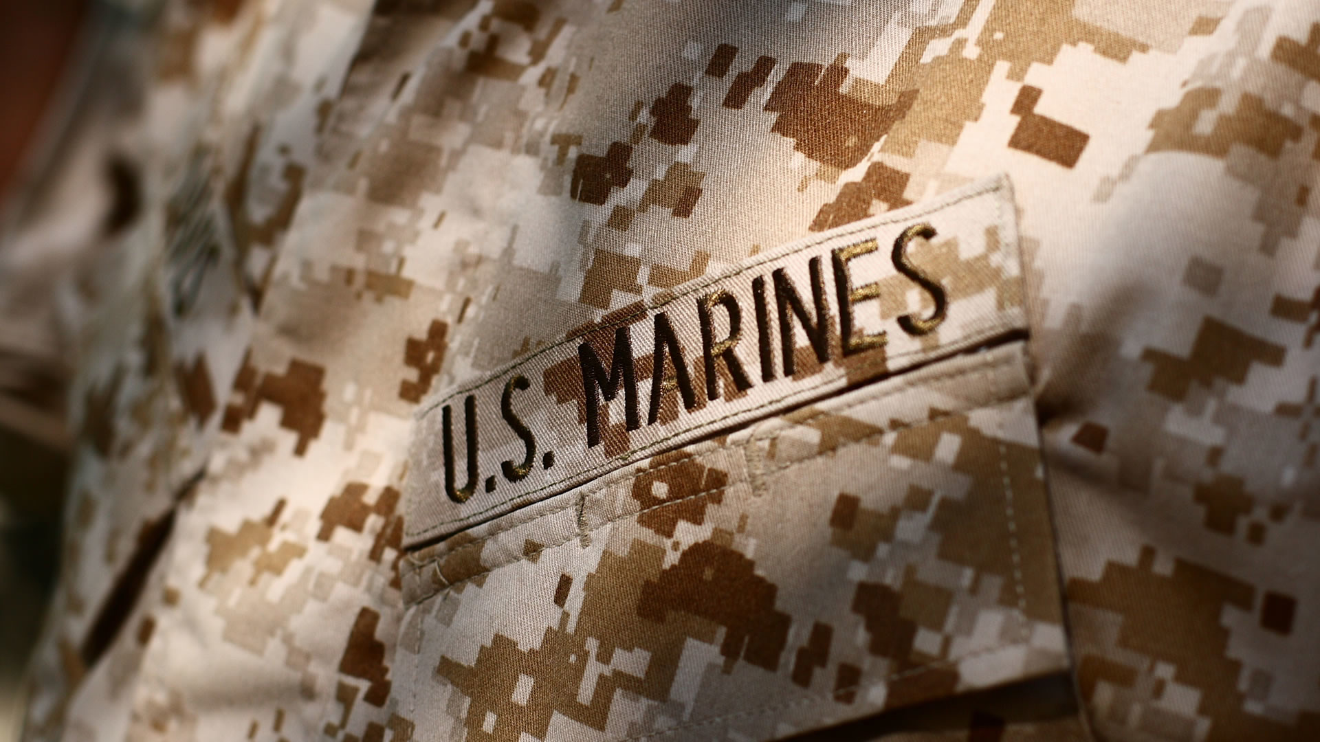 1920x1080 US Marines Uniform Patch