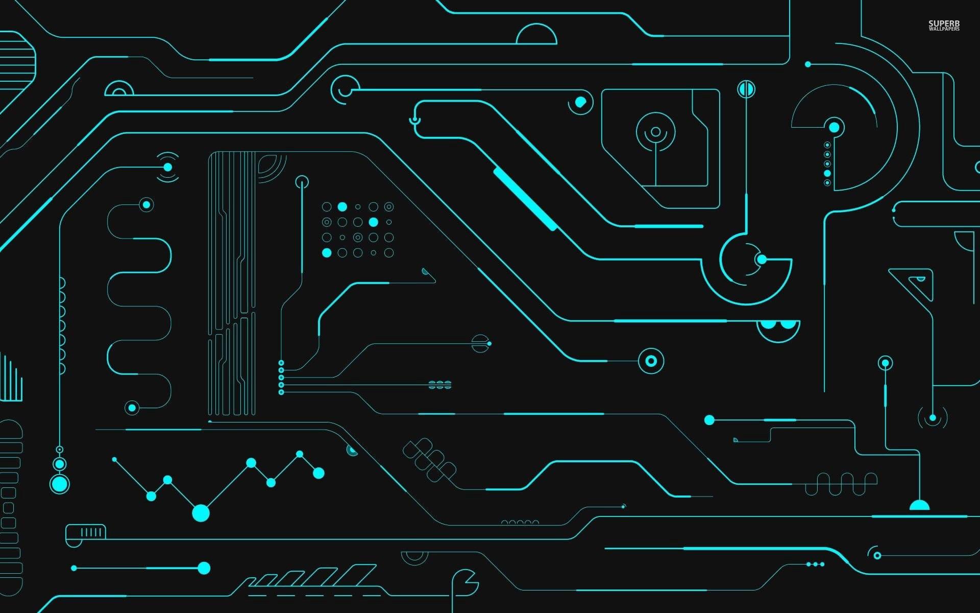 3840x2160 Printed Circuit Board PCB Wallpaper