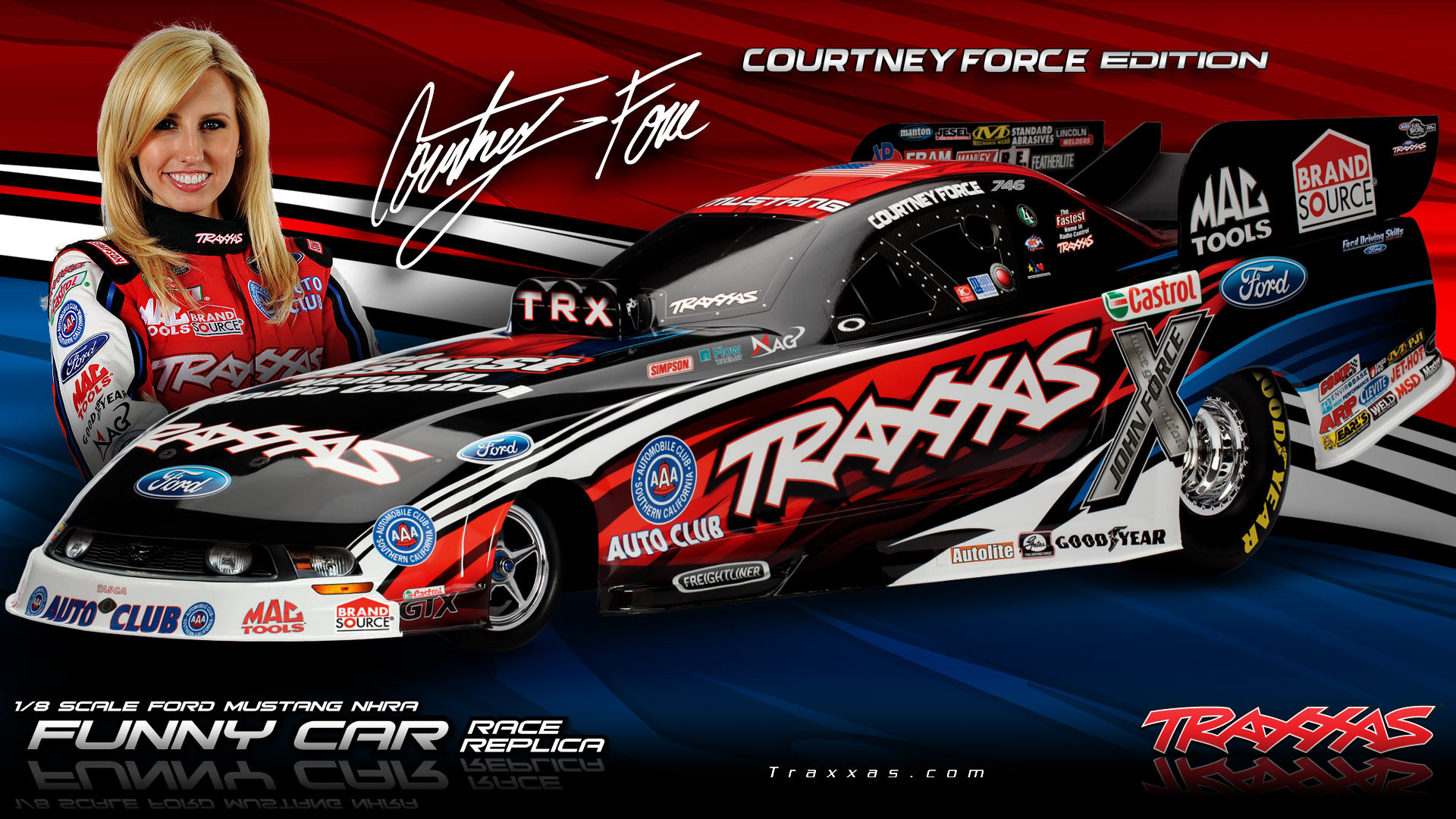 1920x1080 Pics Photos - Traxxas Nhra Funny Car Race Replica Nhra Drag Racing In  Schaal 1
