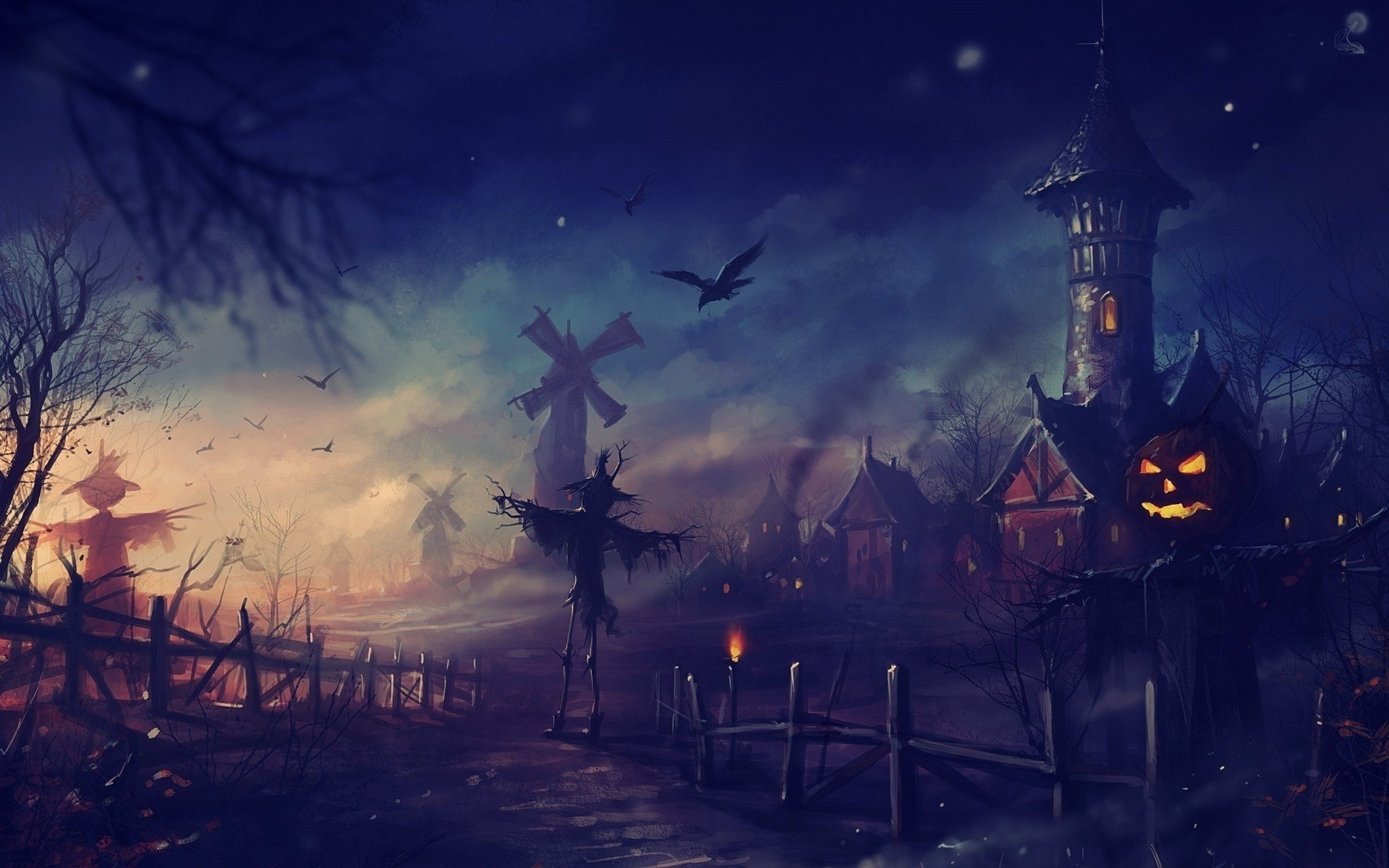 1920x1200 Halloween wallpaper HD desktop