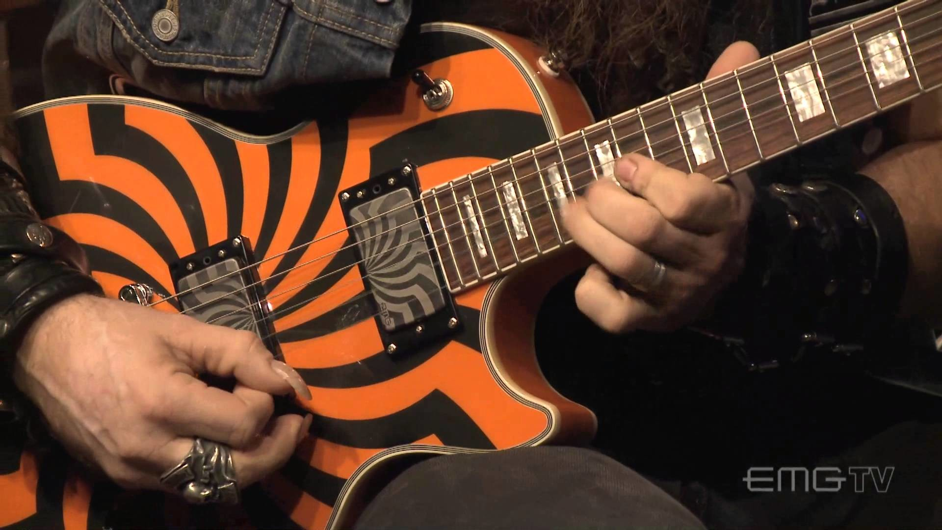 1920x1080 Zakk Wylde rips amazing guitar solo over Andy James track, EMGtv - YouTube