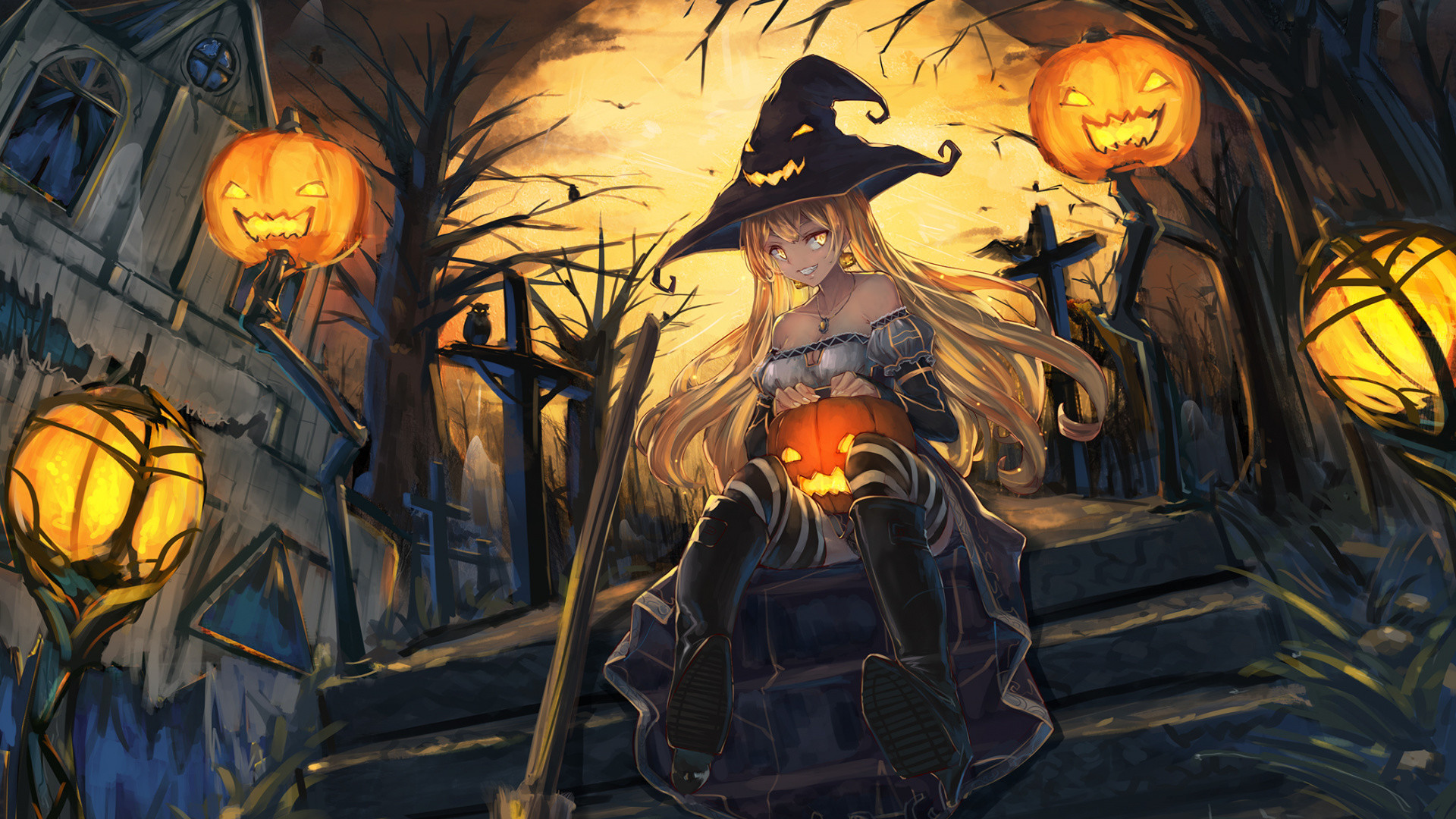 1920 X 1080 Halloween Wallpaper 83 Images
