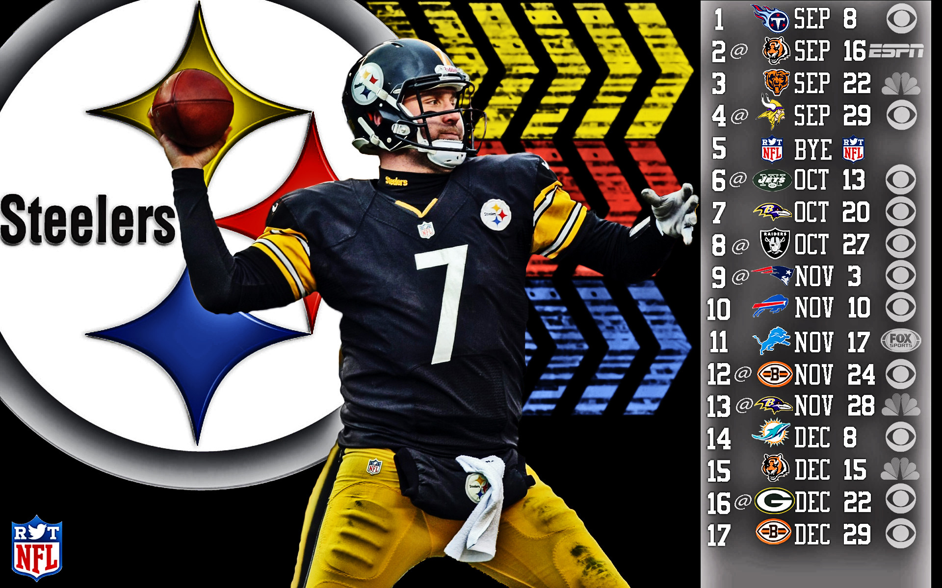 1920x1200 Pittsburgh steelers football nfl wallpaper .
