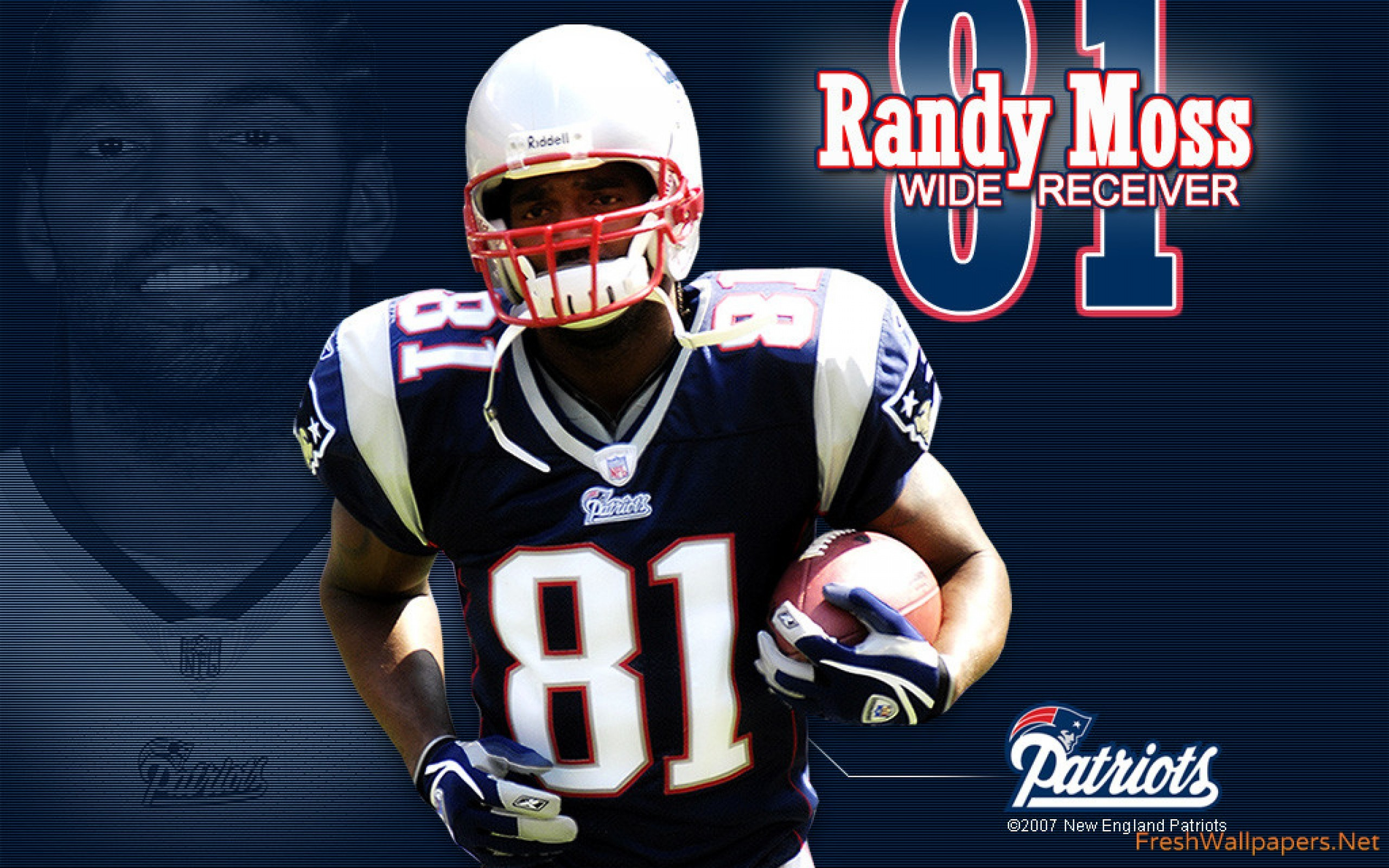 2560x1600 Randy Moss Patriots wallpaper