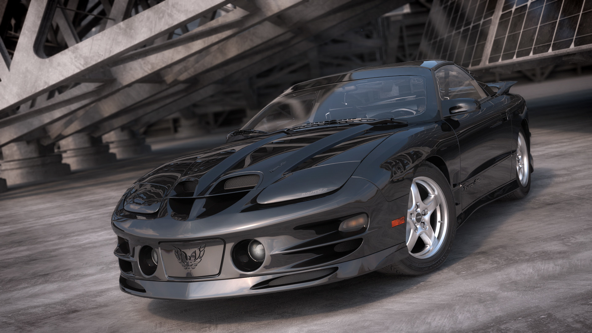 1920x1080 Pontiac Trans Am Wallpaper HD