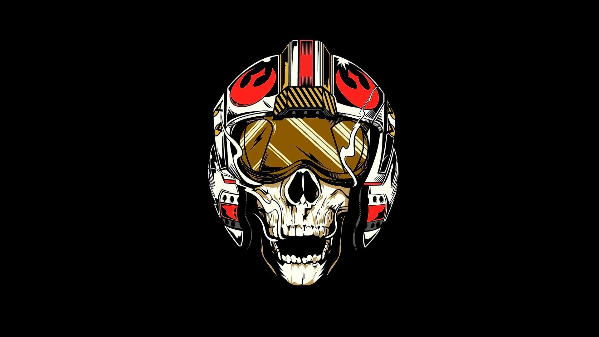 1920x1080 Star Wars, Rebel Alliance, Pilot, Skull Wallpapers HD / Desktop .