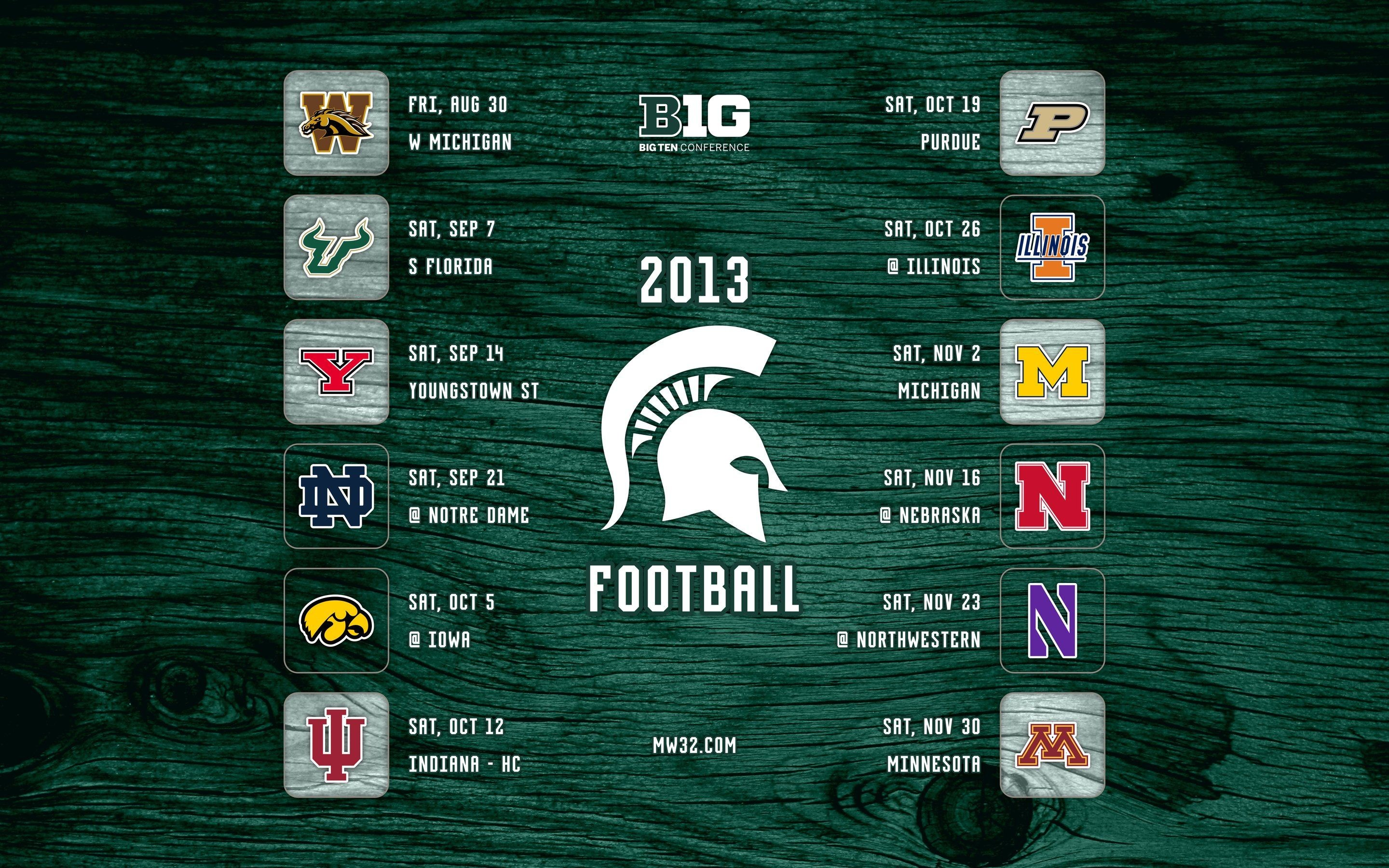 2880x1800 Michigan State Football Pictures