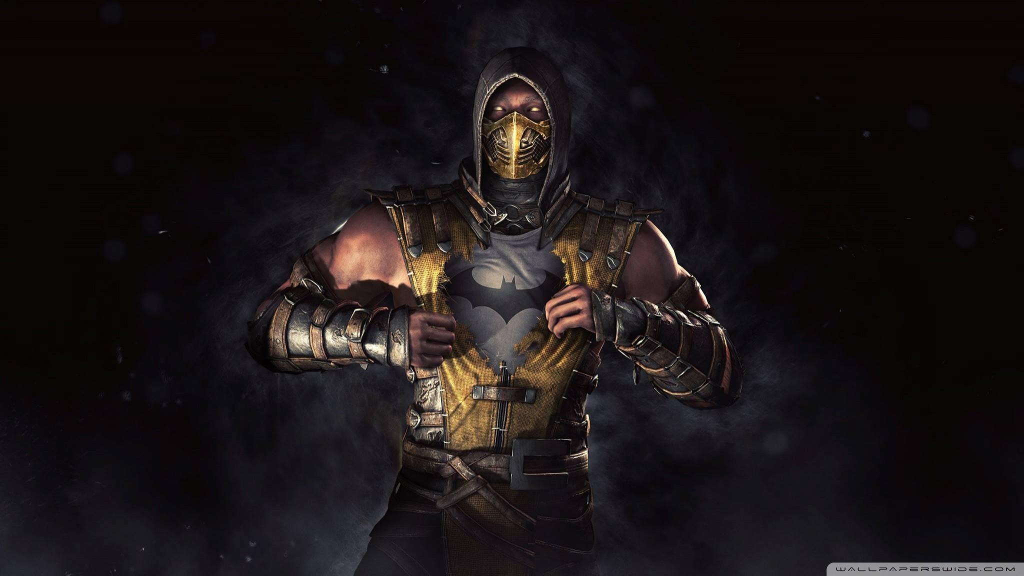mortal kombat x scorpion wallpapers 74 images