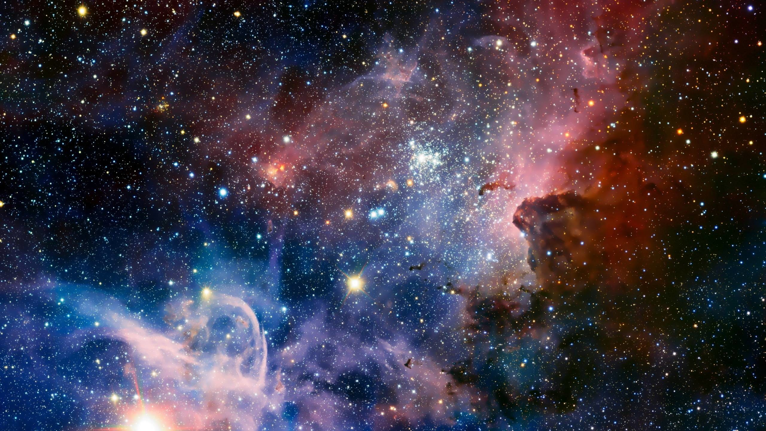 2560x1440 Wallpapers For Cool Backgrounds Of Space With Stars