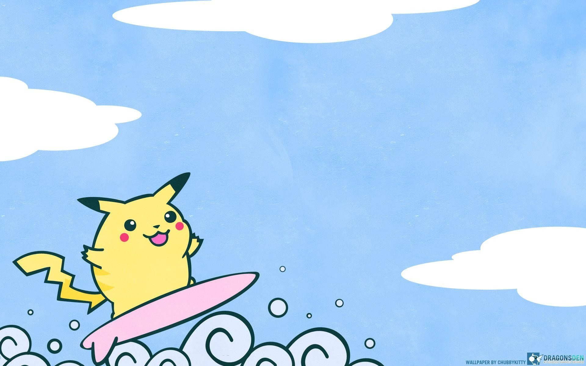 1920x1200 Pokemon Wallpaper Cute Pikhacu Image | Wallpaper | Basic Background