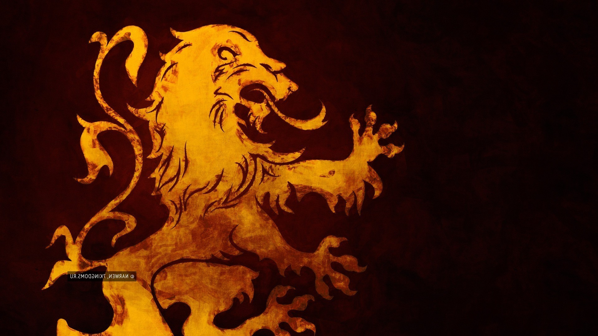 1920x1080 Game Of Thrones, House Lannister, Lion Wallpapers HD / Desktop and Mobile  Backgrounds