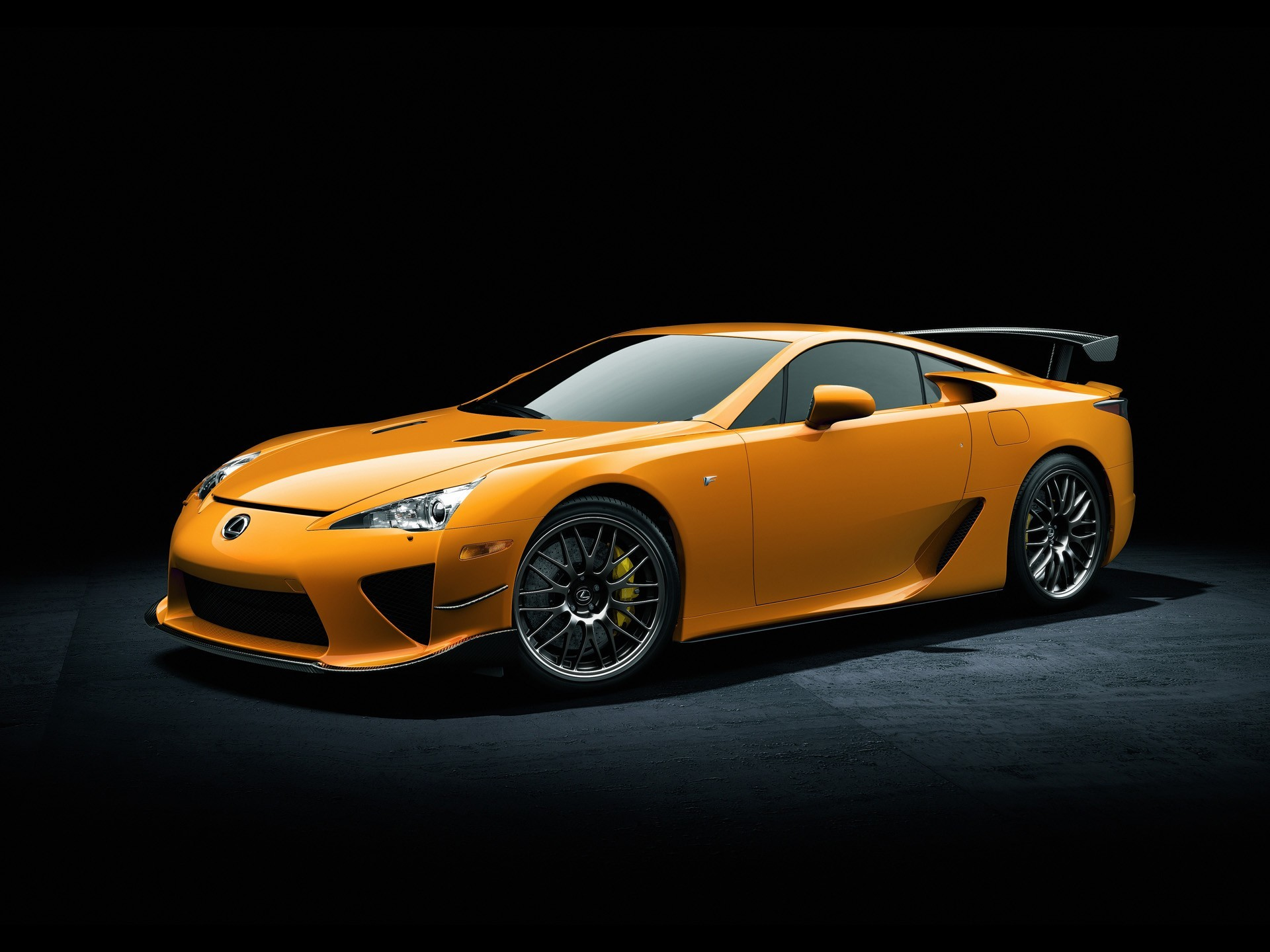1920x1440 Cars Lexus vehicles Lexus LFA black background front angle view wallpaper |   | 209906 | WallpaperUP