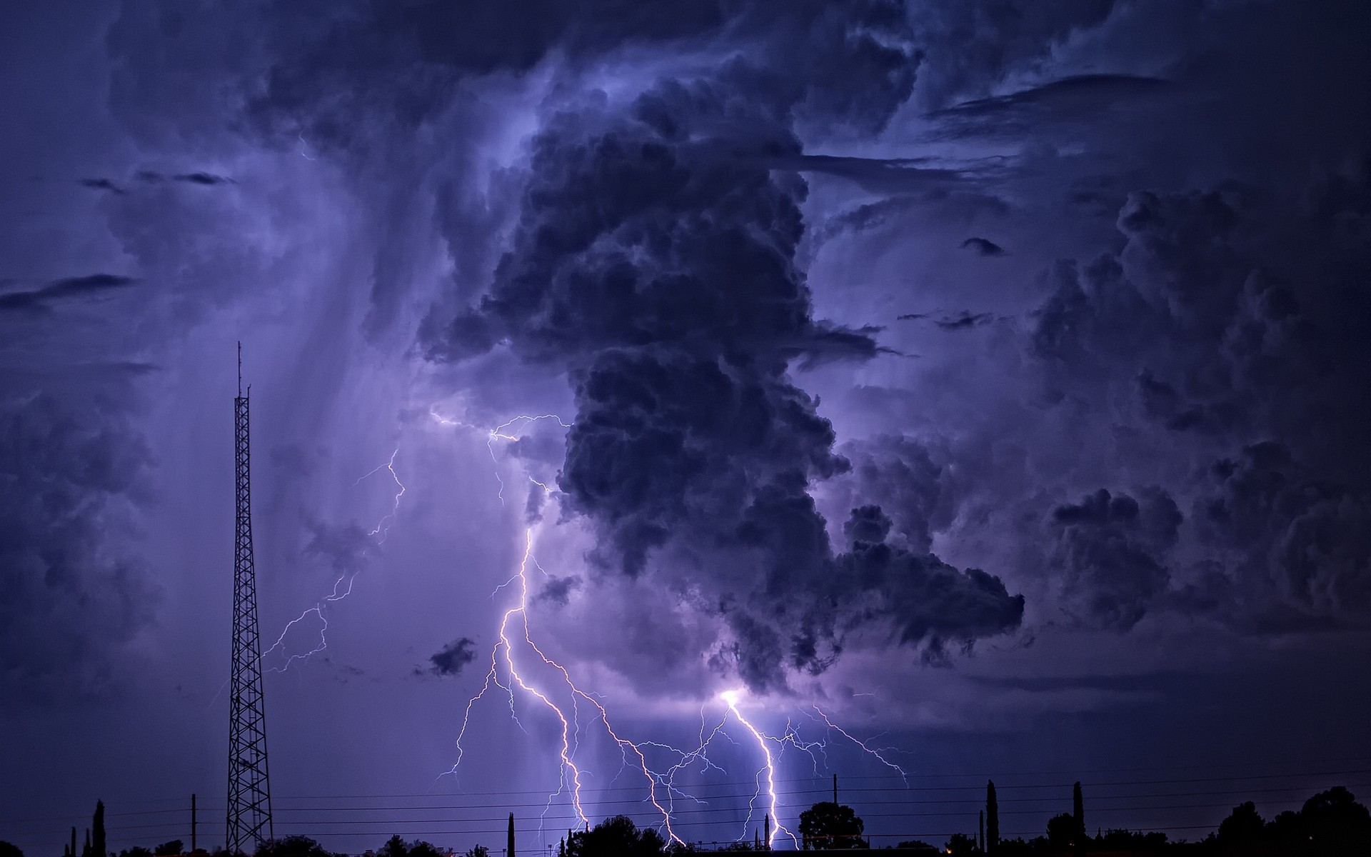 1920x1080 Lightning Storm Wallpapers Wallpaper 1920A 1080